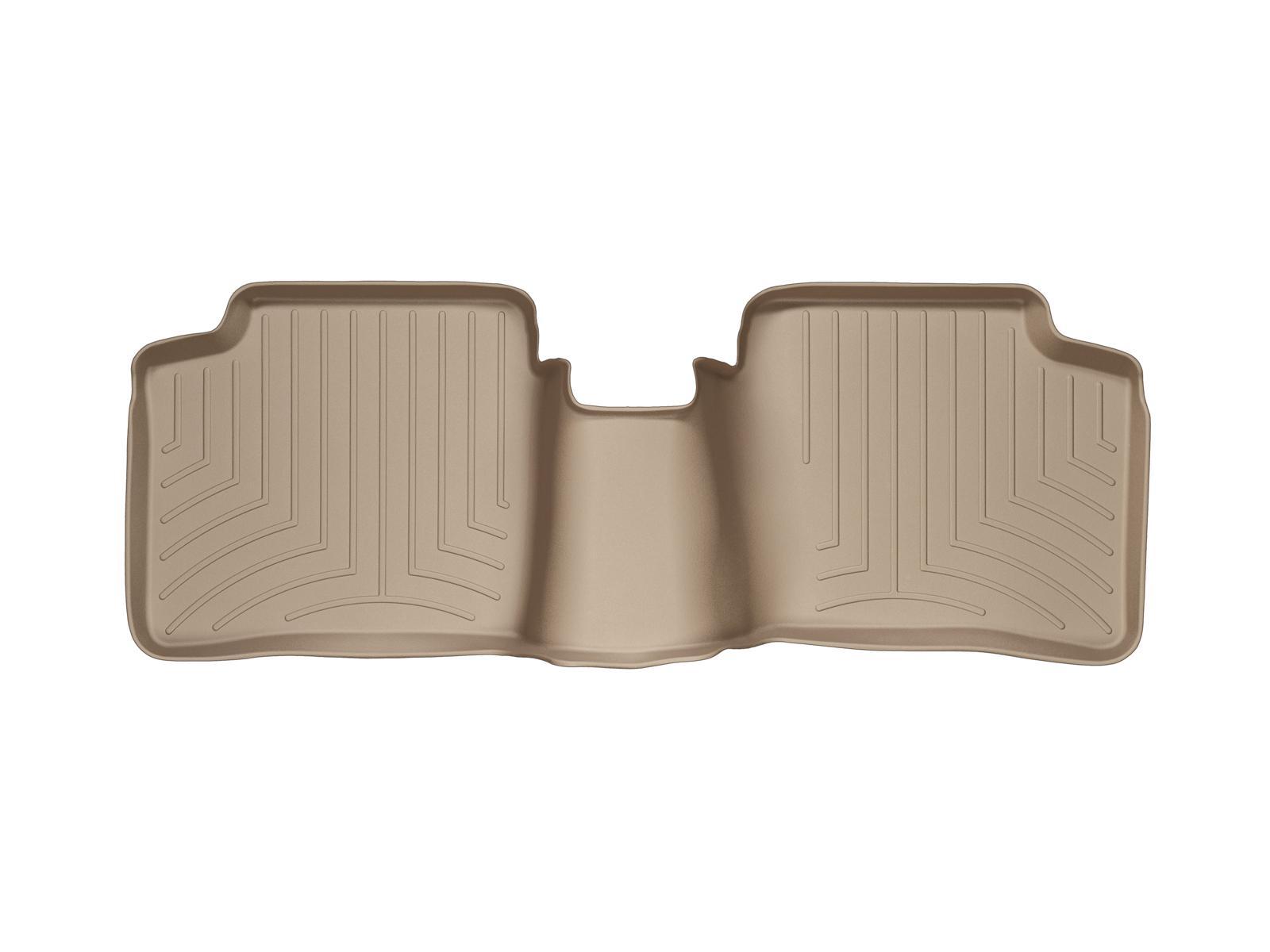 Tappeti gomma su misura bordo alto Toyota Prius 04>08 Marrone A3731*