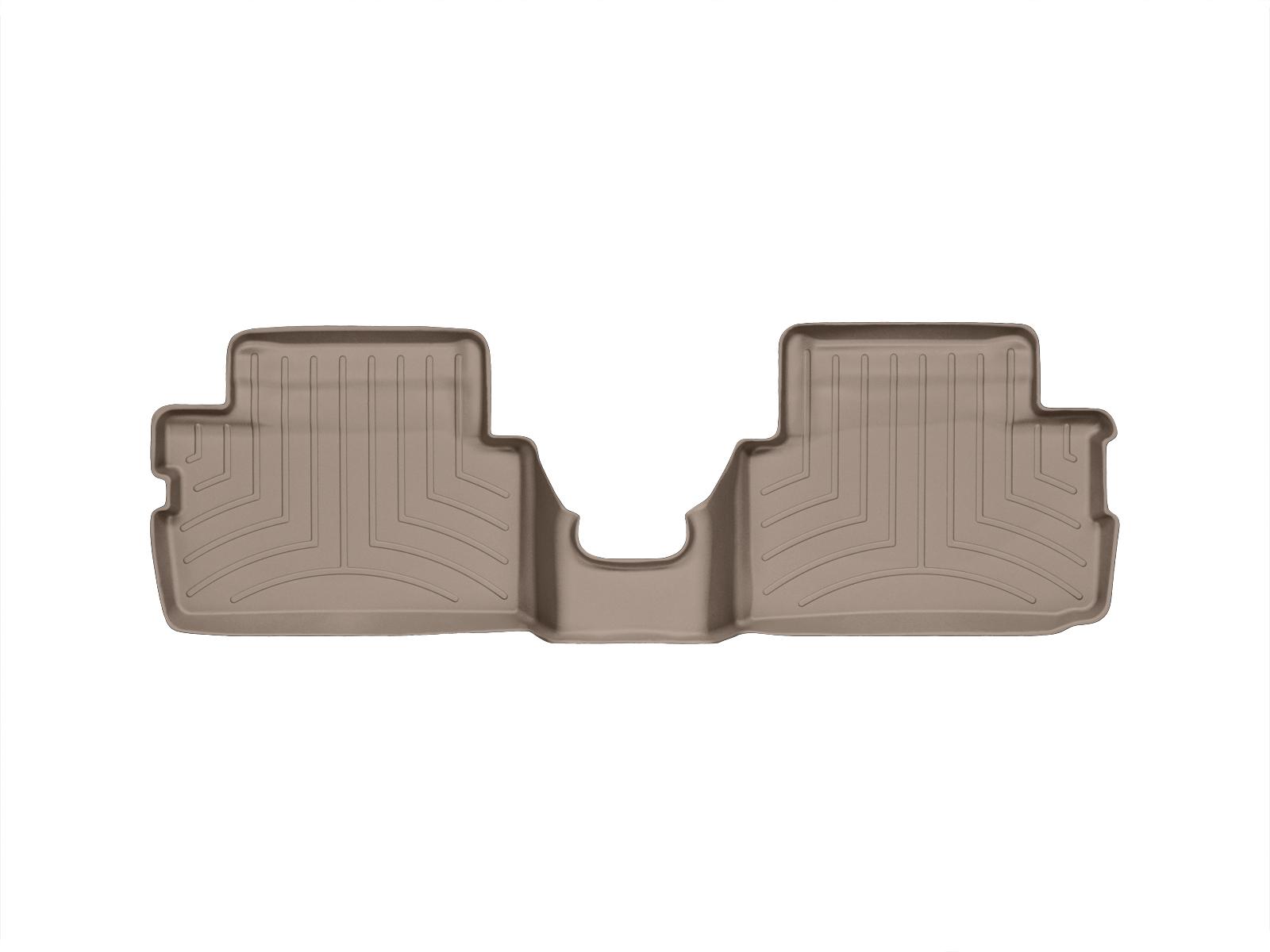 Tappeti gomma su misura bordo alto MINI Clubman 07>14 Marrone A2640*