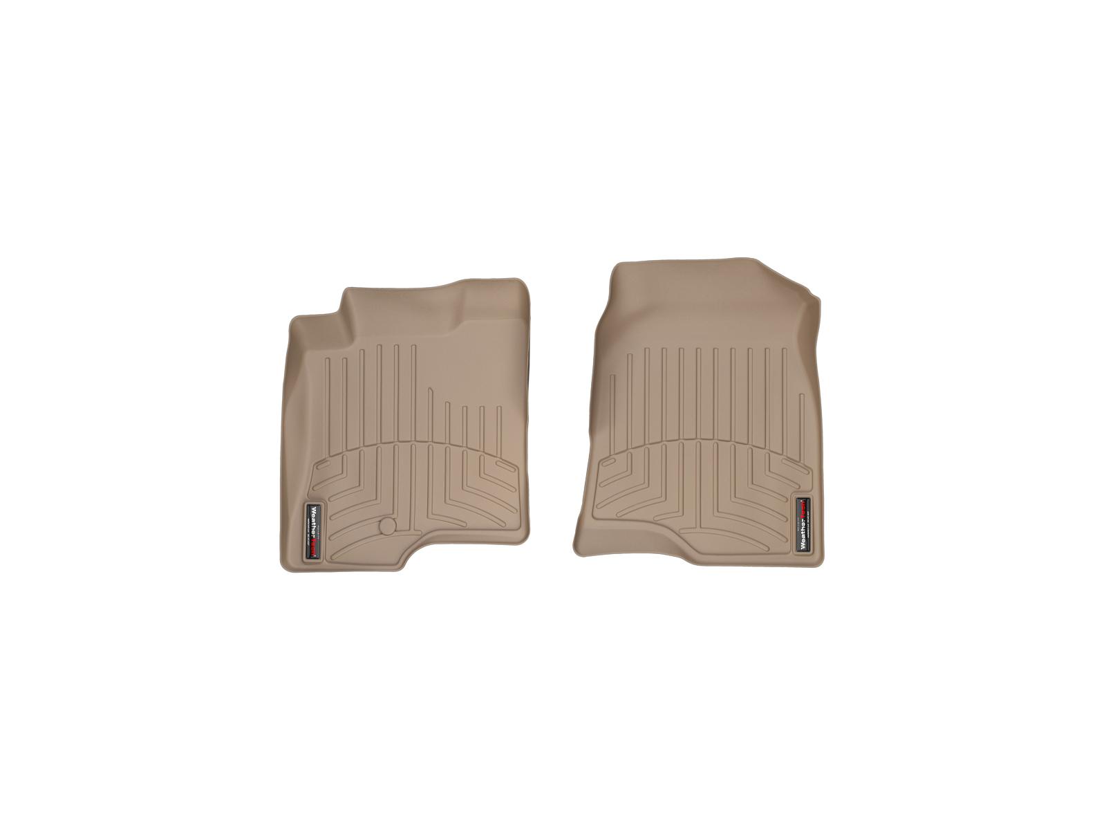 Tappeti gomma su misura bordo alto Chevrolet Captiva 06>11 Marrone A108*