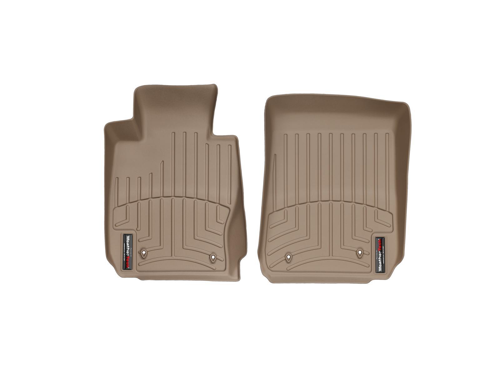 BMW Serie 3 E90/E91/E92/E93 05>12 Tappeti gomma su misura bordo alto marrone