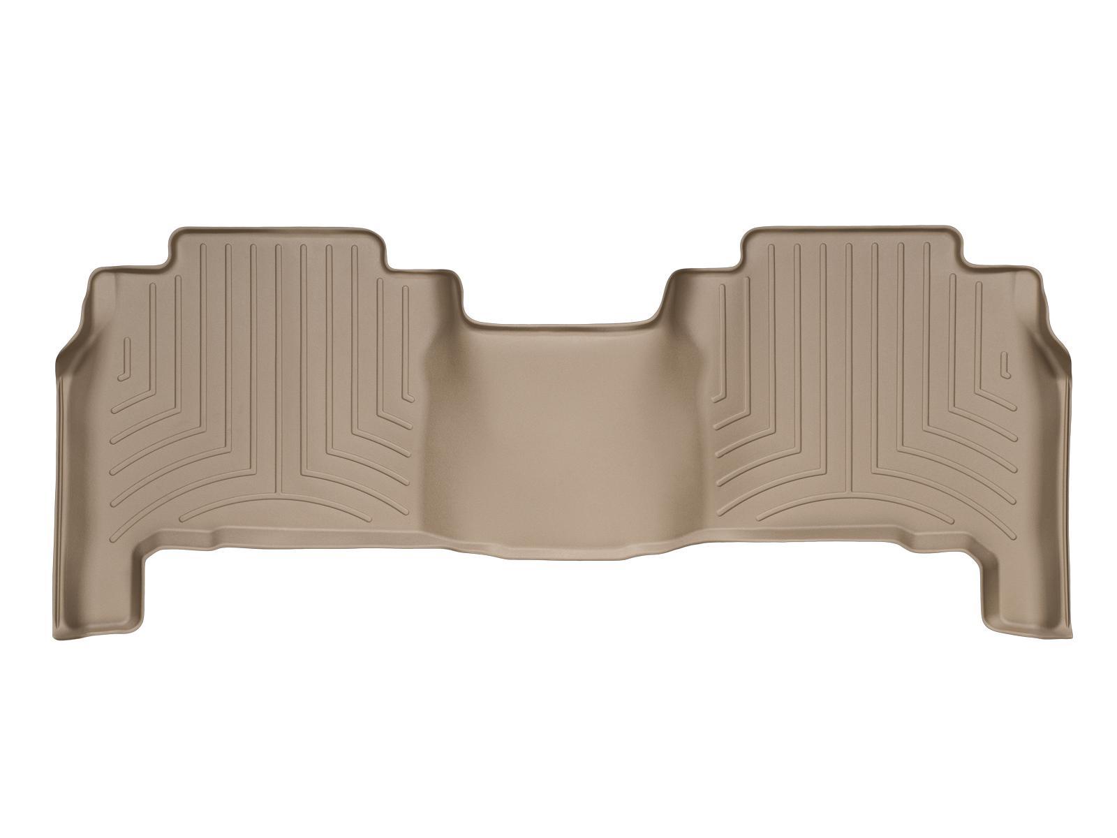 Tappeti gomma su misura bordo alto Toyota Land Cruiser V8 08>17 Marrone A3703*
