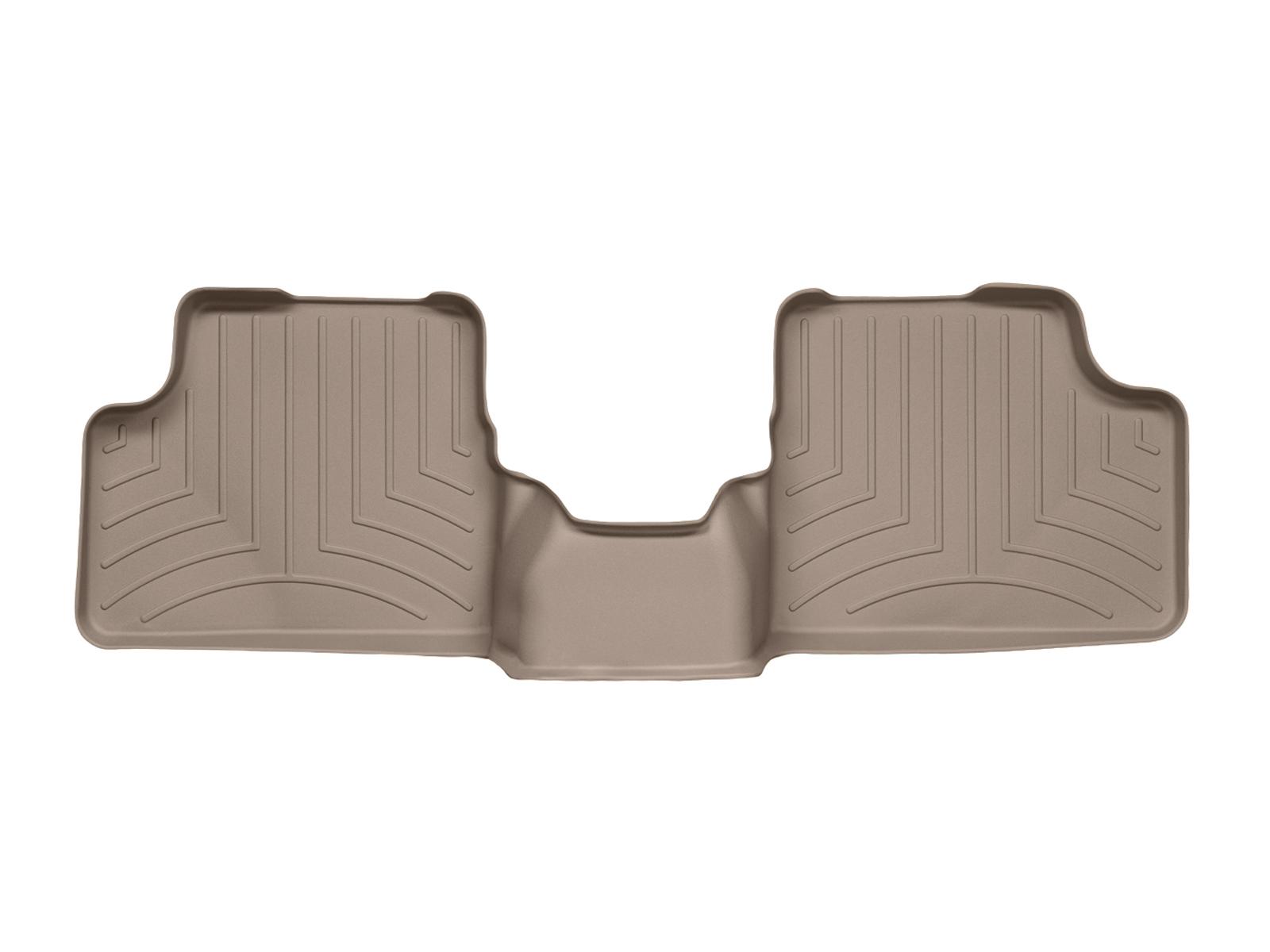 Tappeti gomma su misura bordo alto Opel Astra 04>08 Marrone A2955