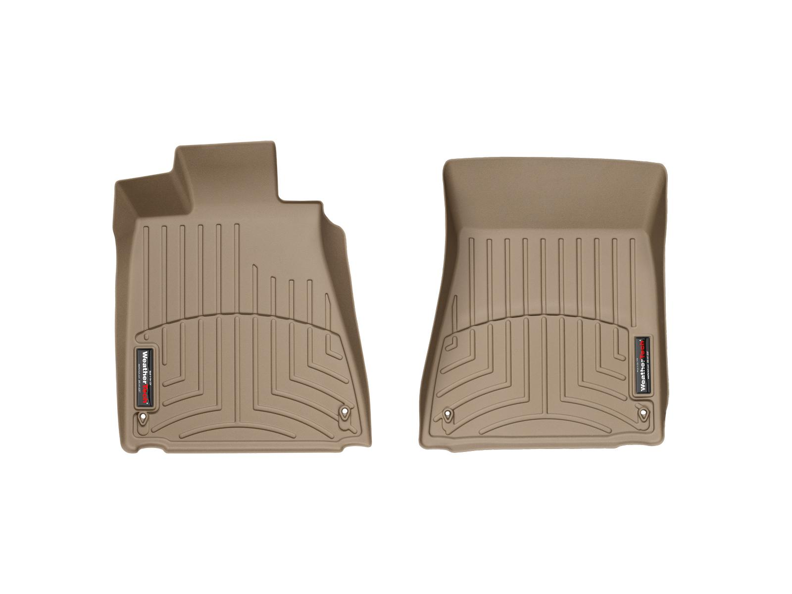 Tappeti gomma su misura bordo alto Lexus GS 300 06>06 Marrone A2020