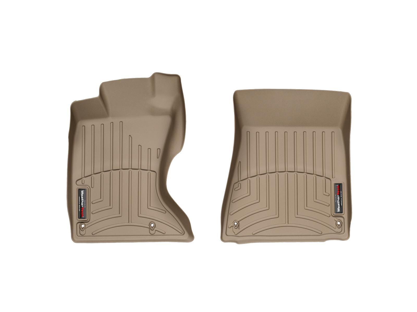 Tappeti gomma su misura bordo alto Lexus GS 300 06>06 Marrone A2021*
