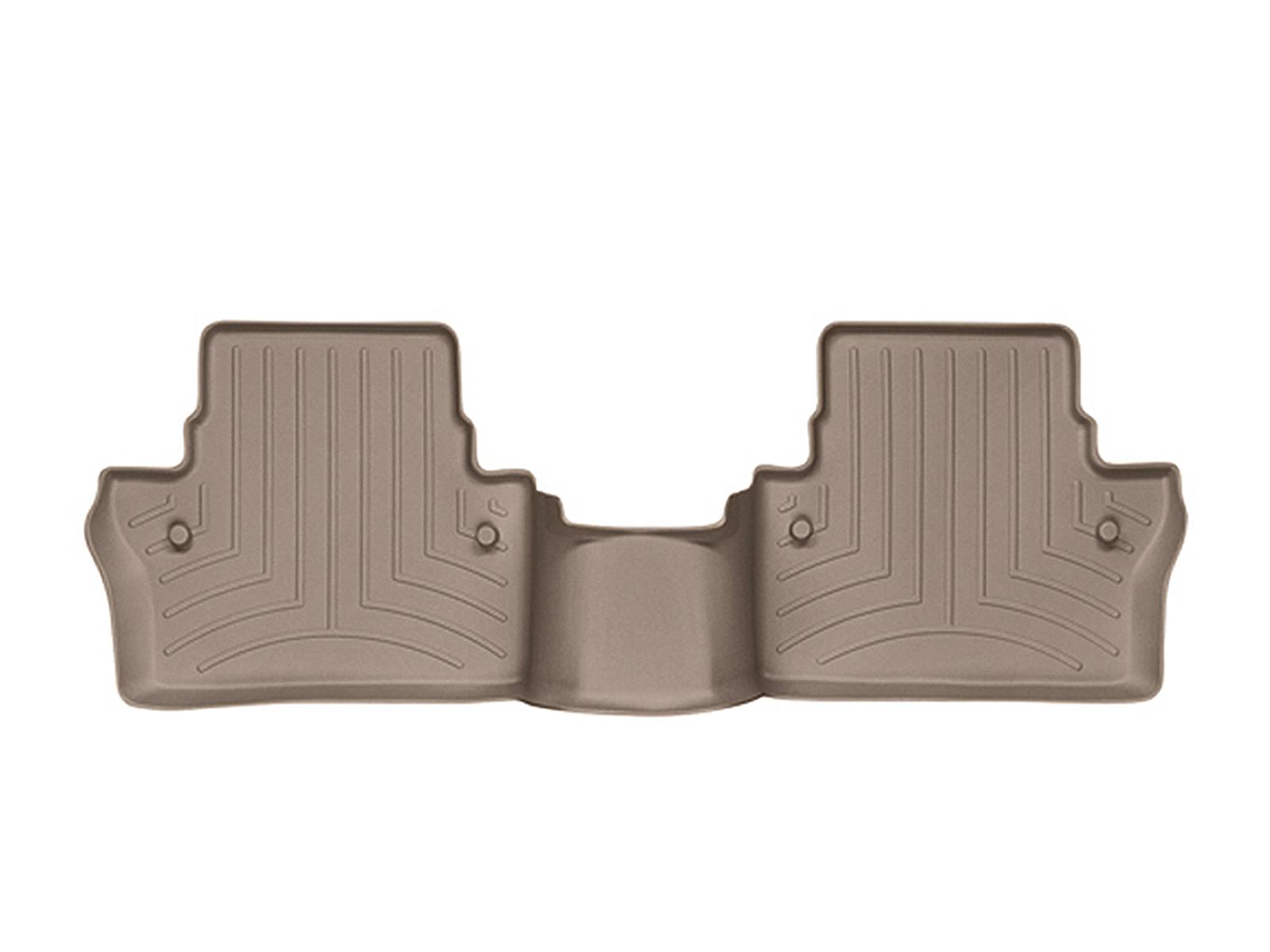 Tappeti gomma su misura bordo alto Volvo XC70 08>17 Marrone A4434*