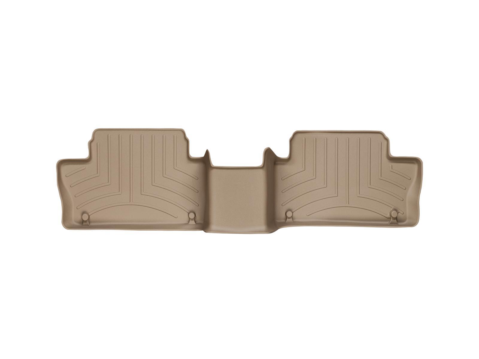 Tappeti gomma su misura bordo alto Volvo XC60 08>17 Marrone A4422*