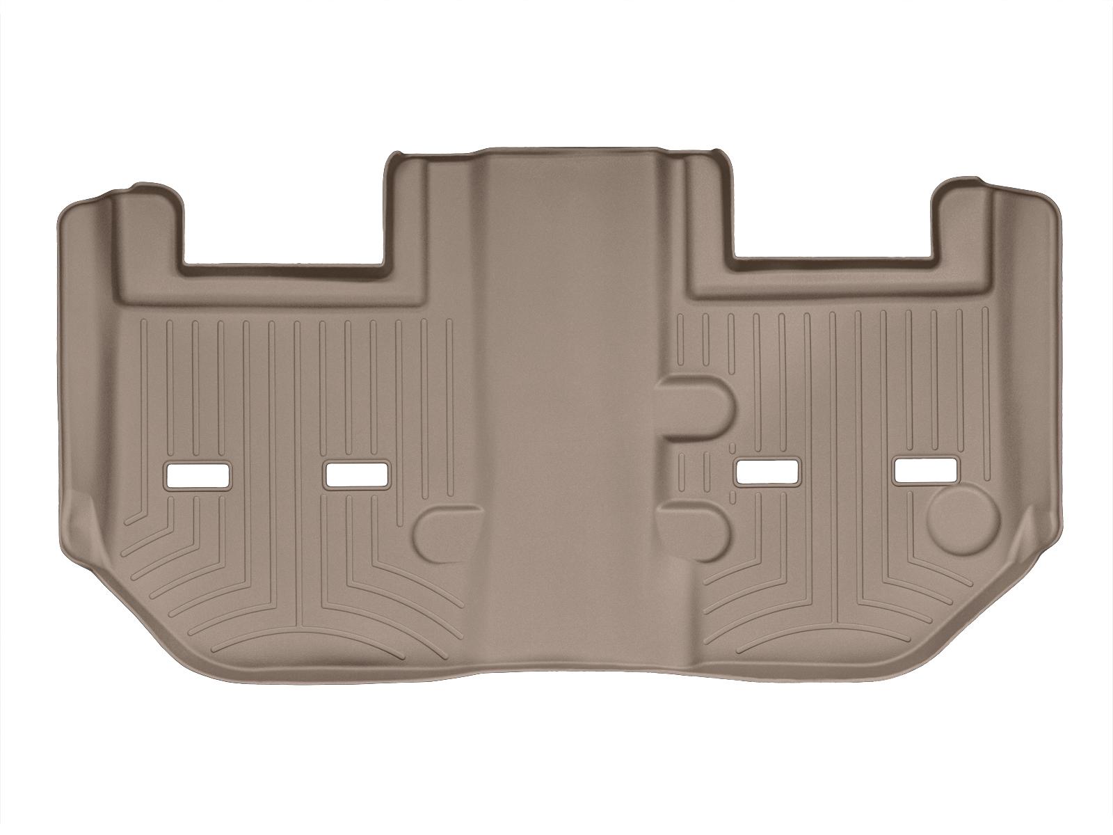 Tappeti gomma su misura bordo alto Cadillac Escalade ESV 11>14 Marrone A64*