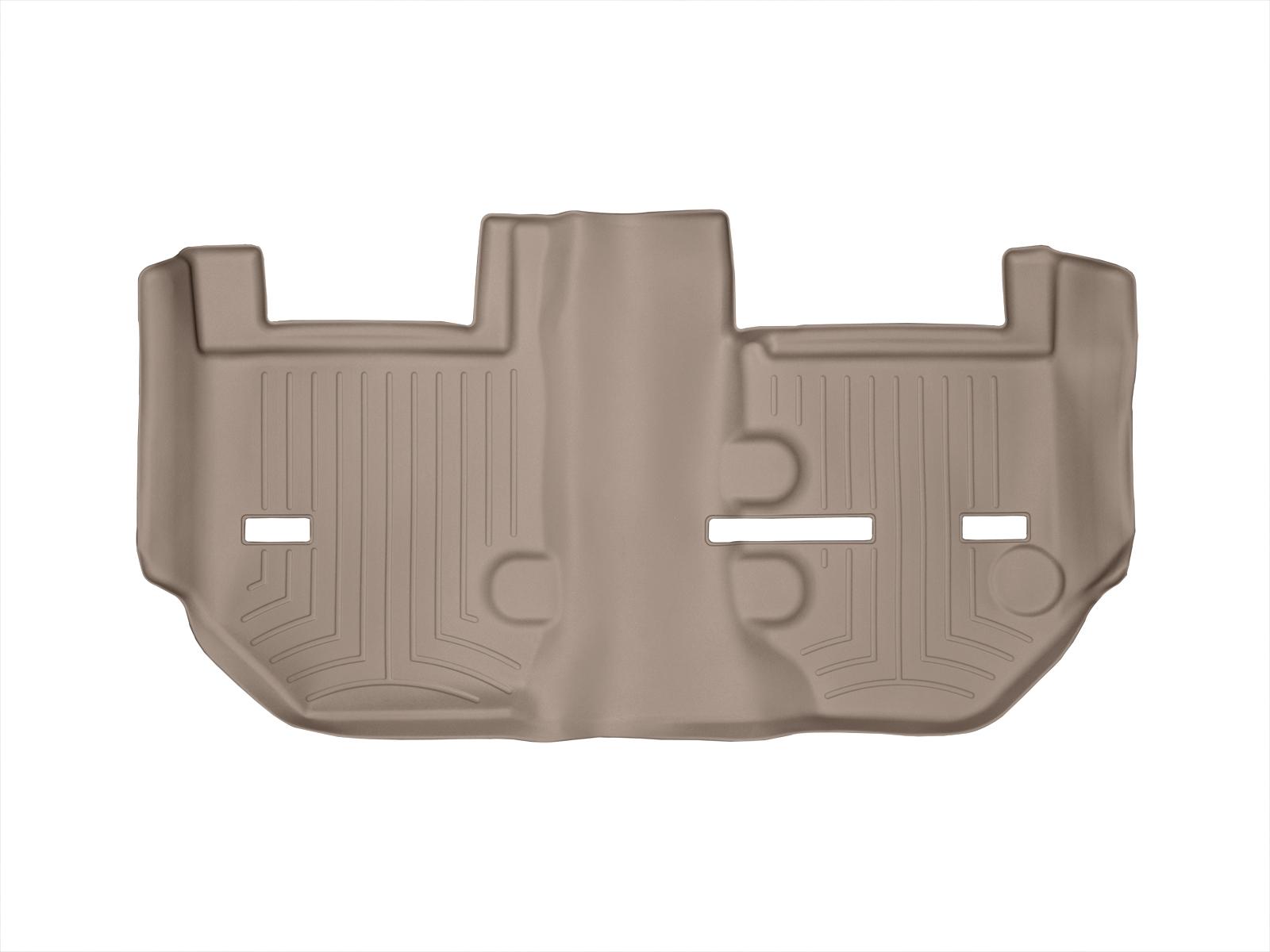 Tappeti gomma su misura bordo alto Cadillac Escalade ESV 11>14 Marrone A65*