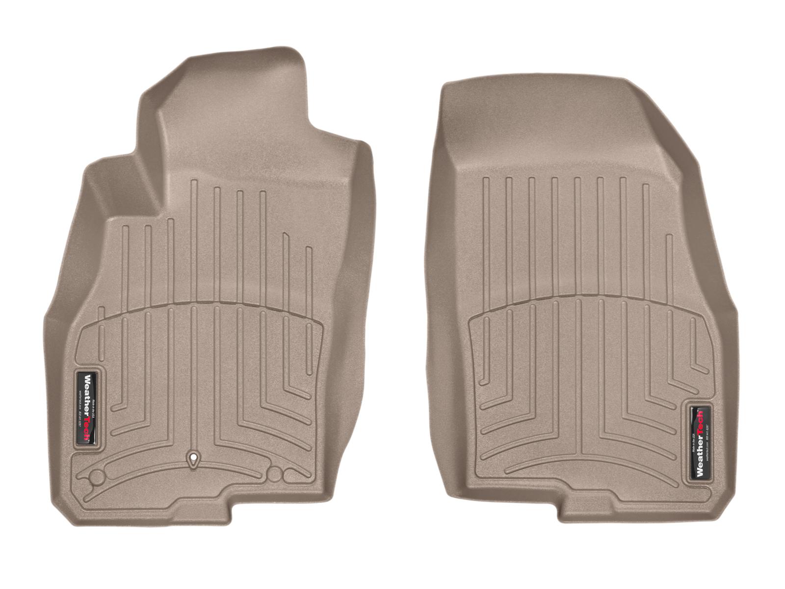Tappeti gomma su misura bordo alto Fiat Punto 12>17 Marrone A826*