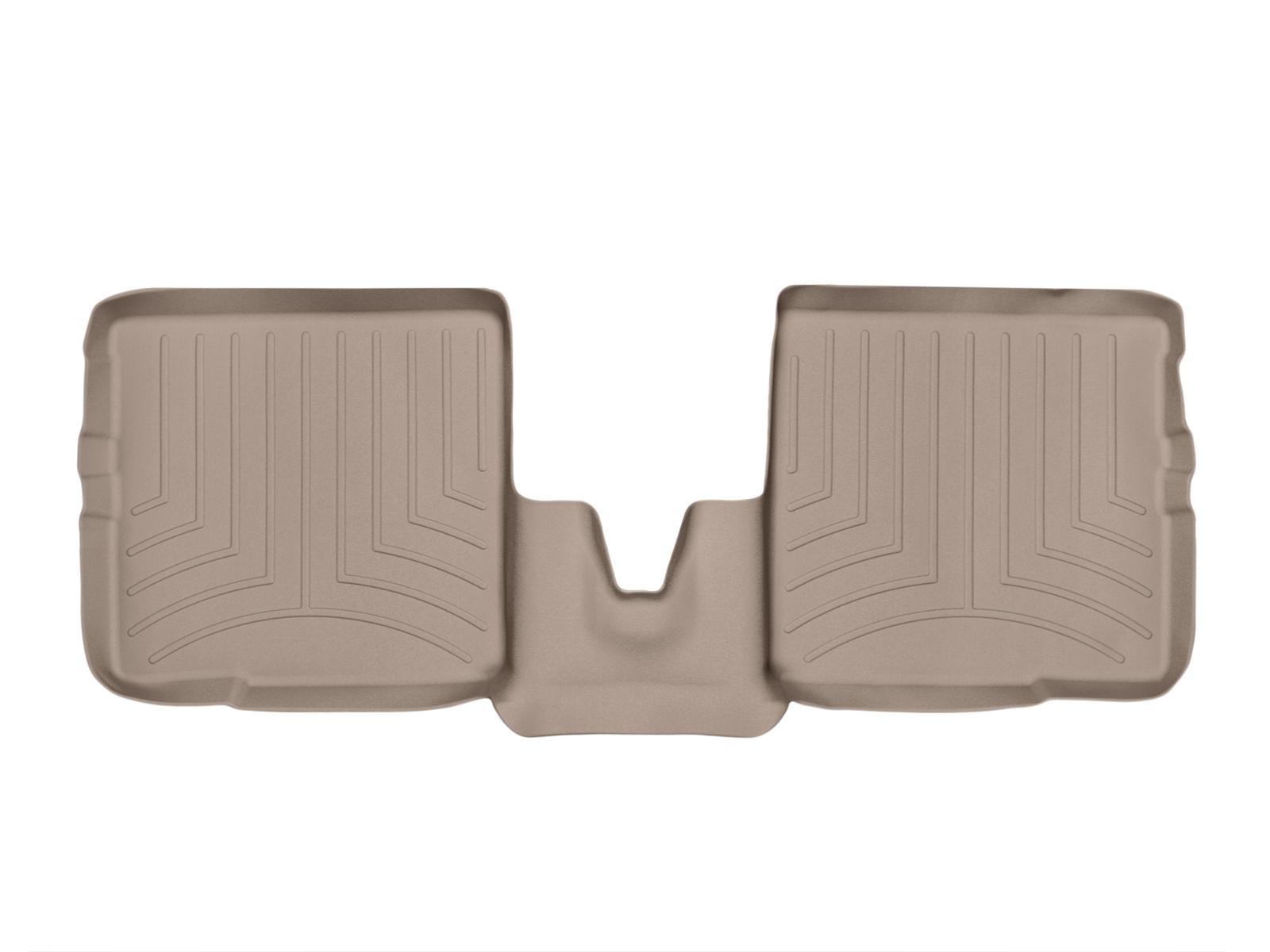 Tappeti gomma su misura bordo alto Fiat Panda 03>10 Marrone A809*