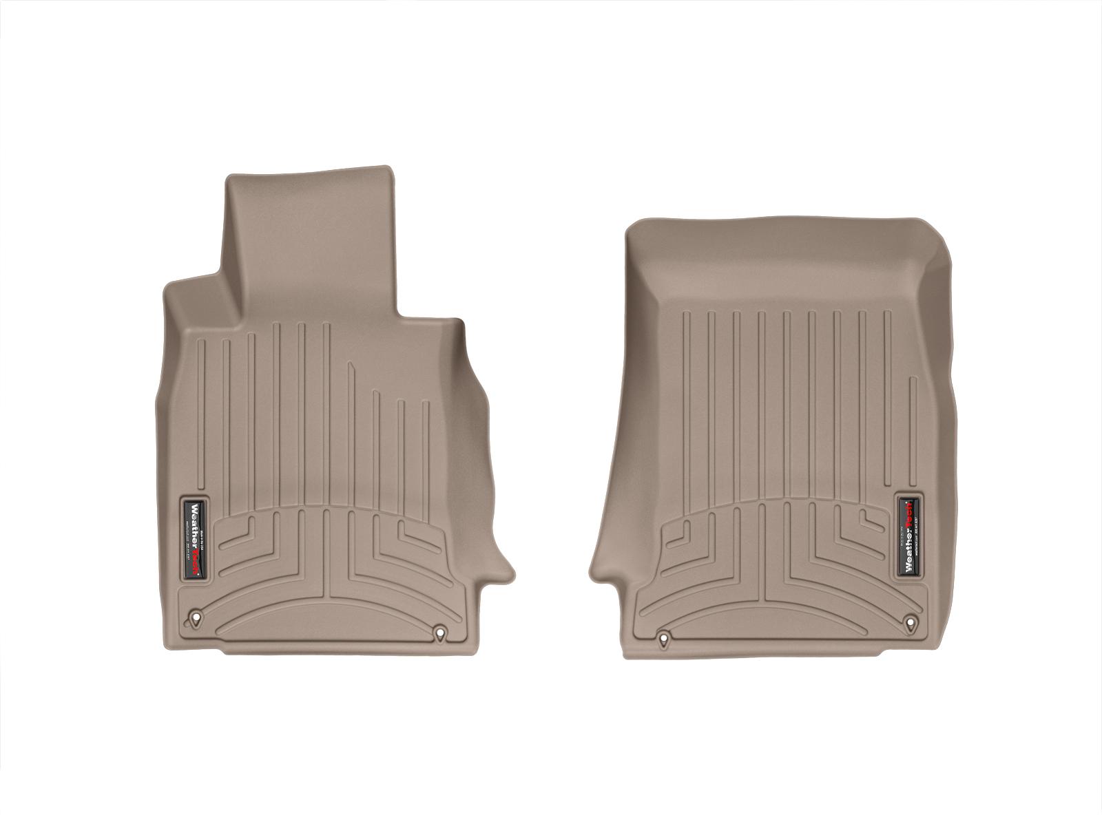 BMW M5 (E39) 00>03 Tappeti gomma su misura bordo alto marrone