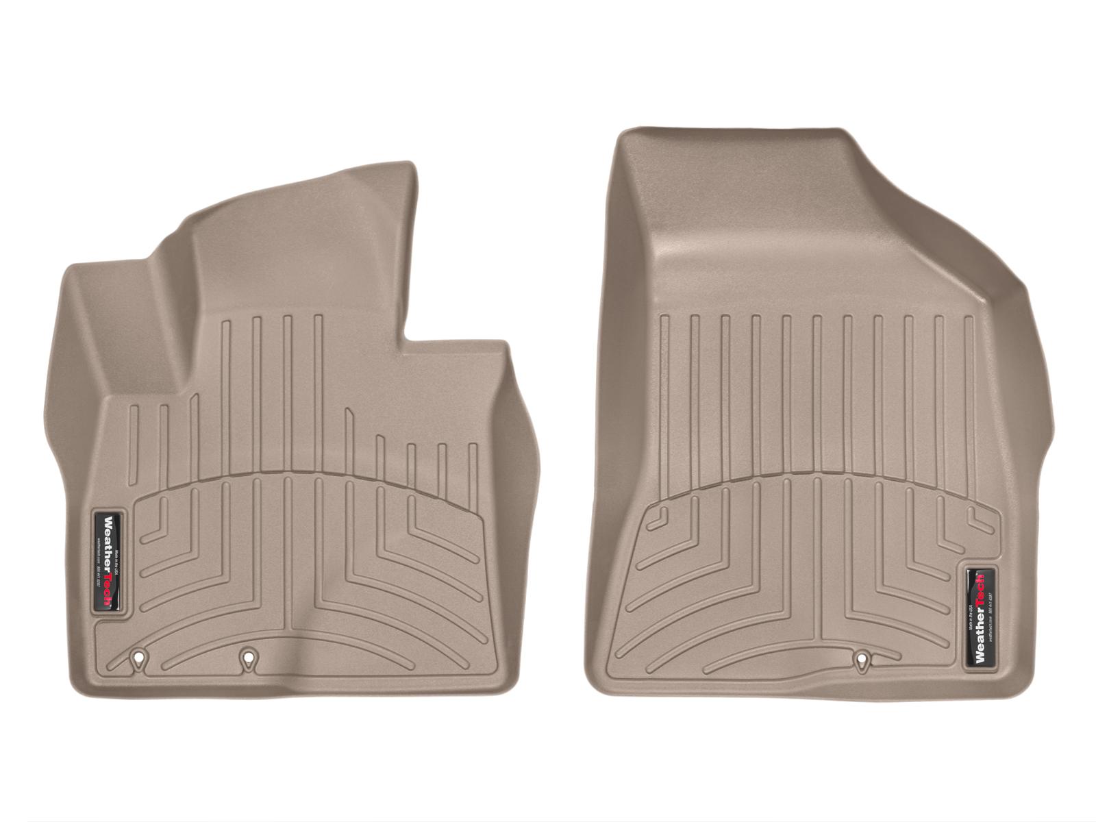 Tappeti gomma su misura bordo alto Hyundai Santa Fe 12>12 Marrone A1483
