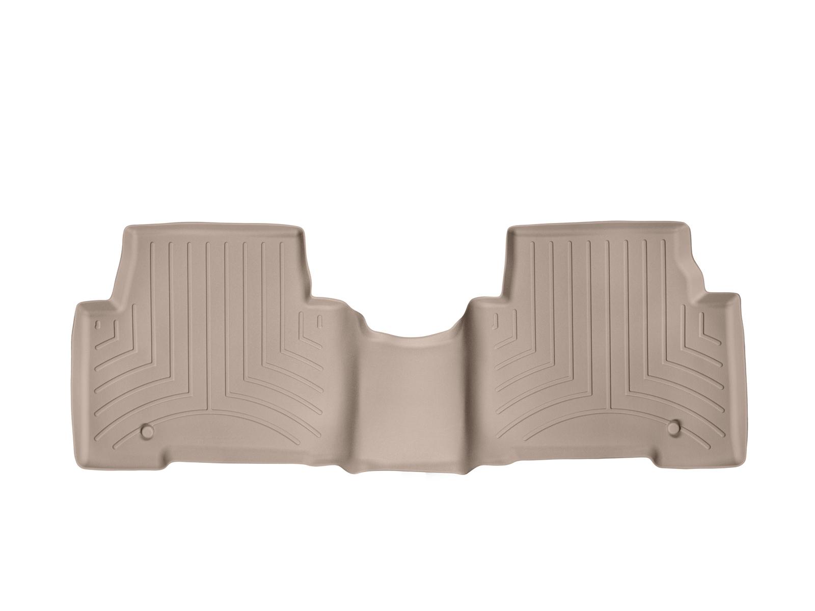 Tappeti gomma su misura bordo alto Hyundai Santa Fe 12>12 Marrone A1485