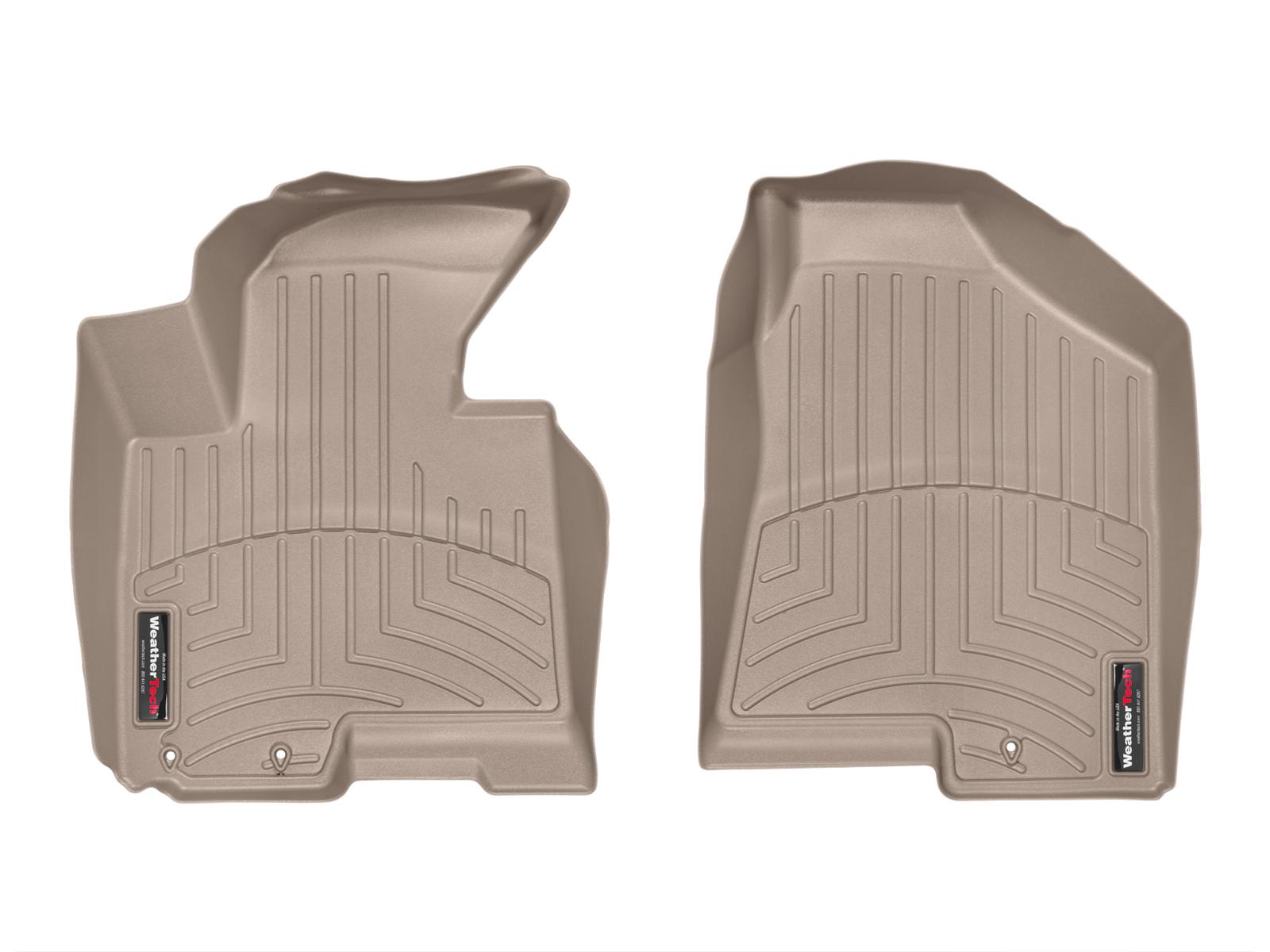 Tappeti gomma su misura bordo alto Kia Sportage 11>15 Marrone A1846*