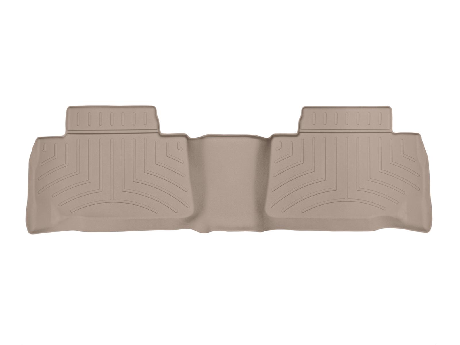 Tappeti gomma su misura bordo alto Toyota Land Cruiser 10>17 Marrone A3691*