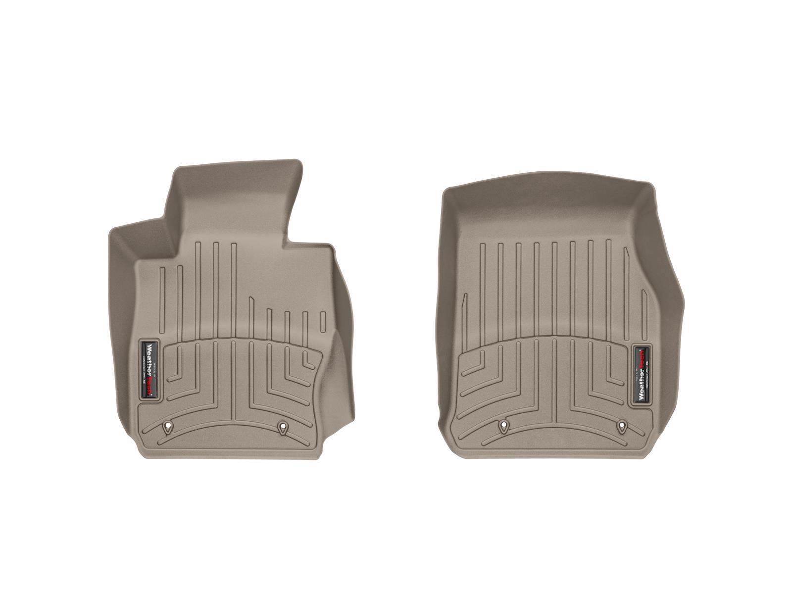 BMW Serie 3 (F30/F31) 12>17 Tappeti gomma su misura bordo alto marrone