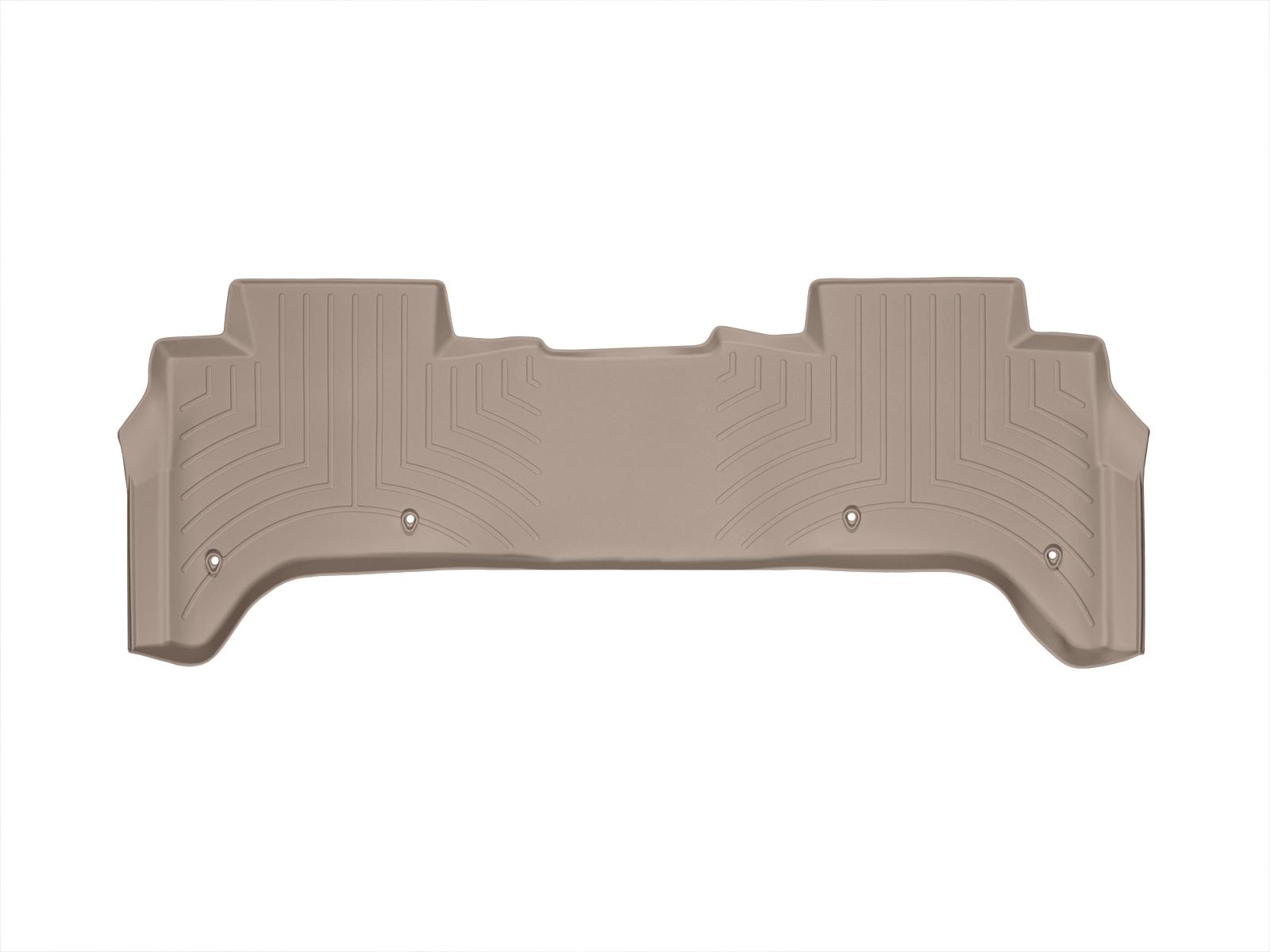 Tappeti gomma su misura bordo alto Land Rover 13>17 Marrone A1986*