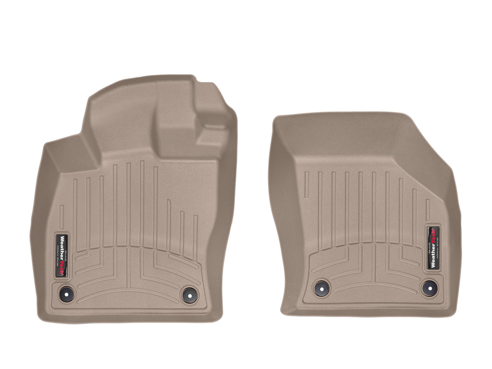 Tappeti gomma su misura bordo alto Volkswagen Golf 4Mot.13>17 Marrone A4066*