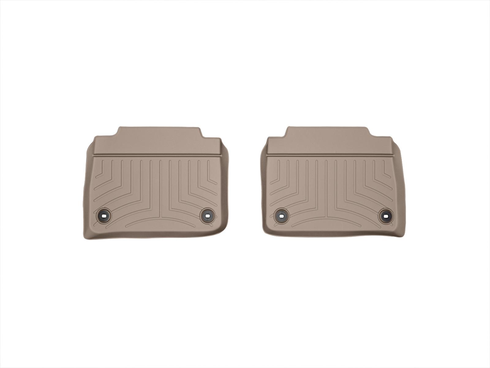 Tappeti gomma su misura bordo alto Lexus LS 13>17 Marrone A2071