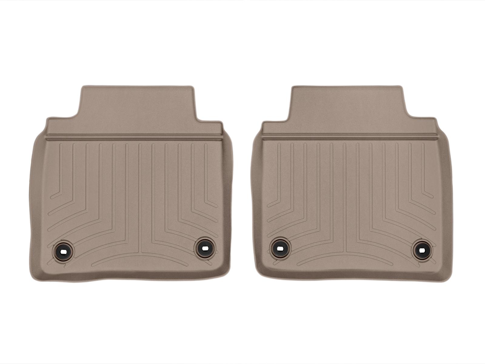 Tappeti gomma su misura bordo alto Lexus LS 13>17 Marrone A2070
