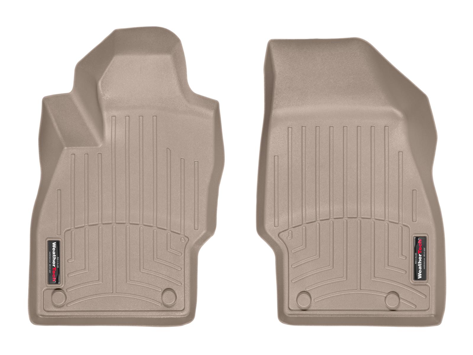 Tappeti gomma su misura bordo alto Opel Adam 12>17 Marrone A2945