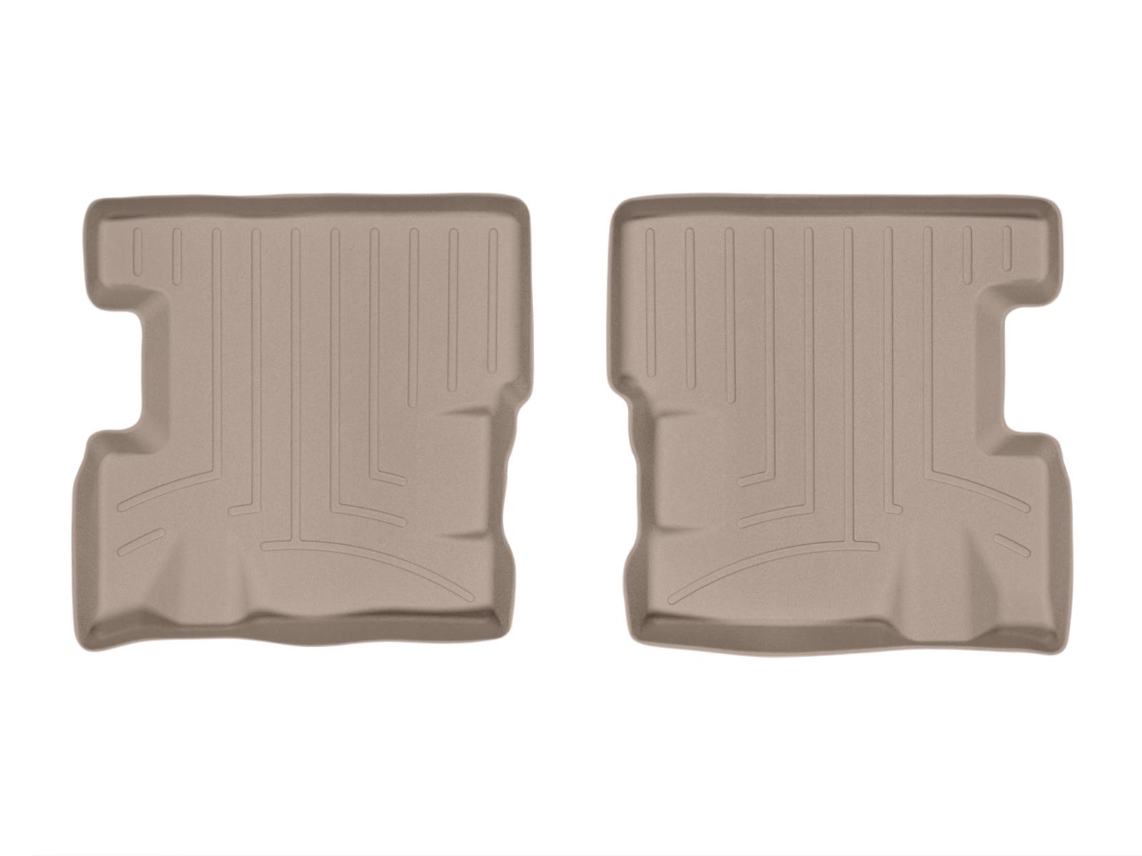Tappeti gomma su misura bordo alto Opel Adam 12>17 Marrone A2946