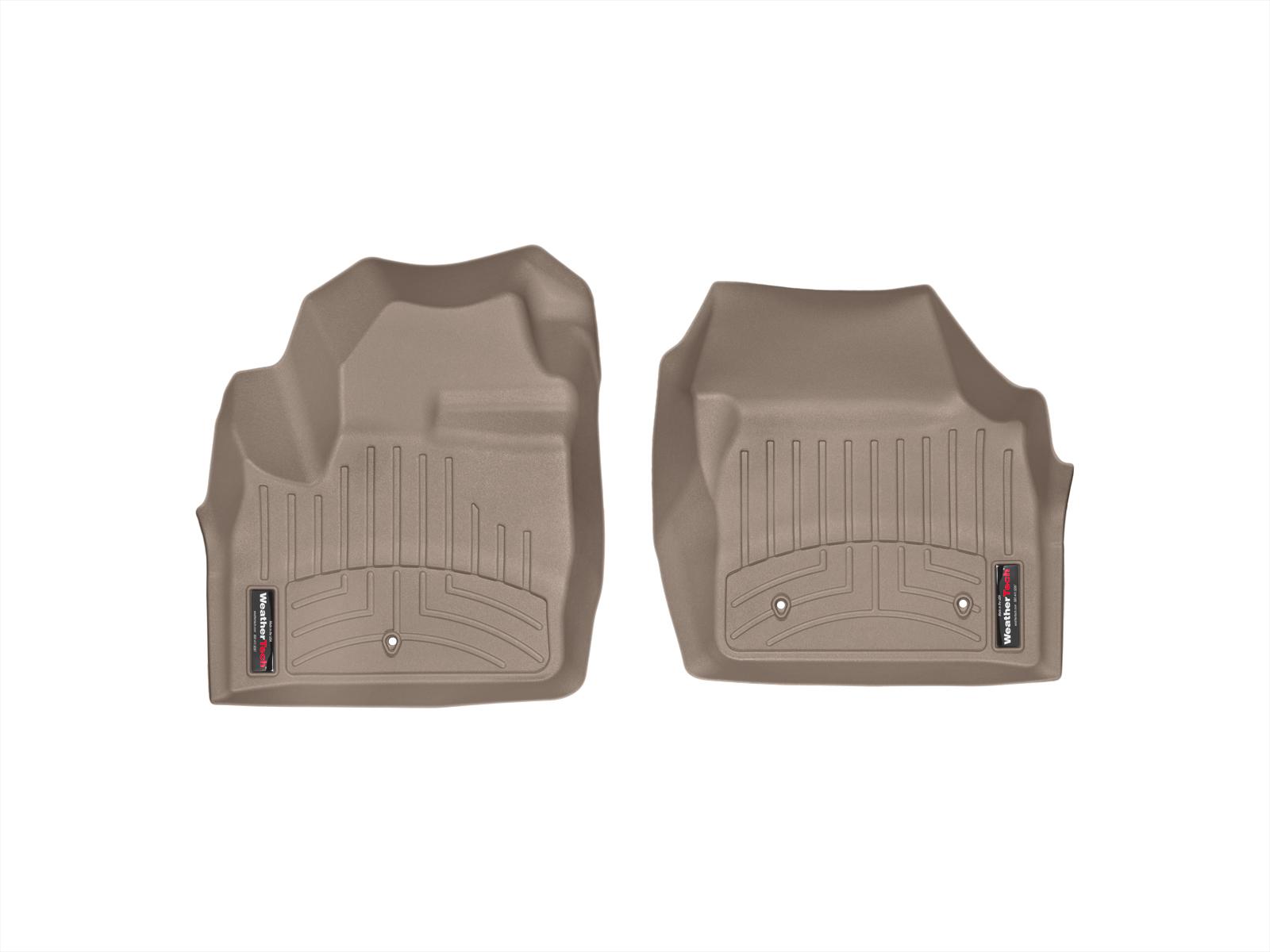 Tappeti gomma su misura bordo alto Land Rover 13>15 Marrone A1977*