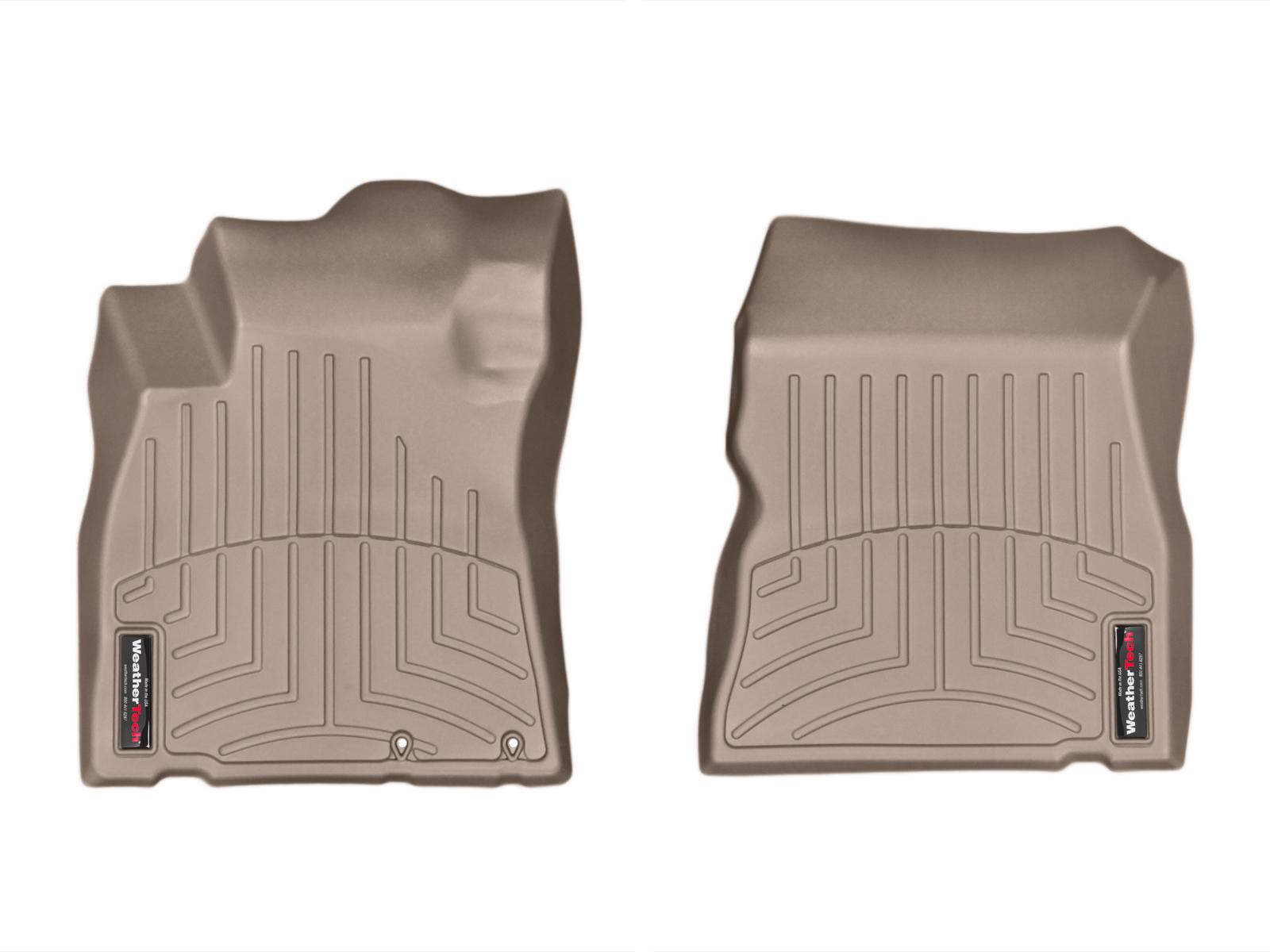 Tappeti gomma su misura bordo alto Nissan Note 13>13 Marrone A2897