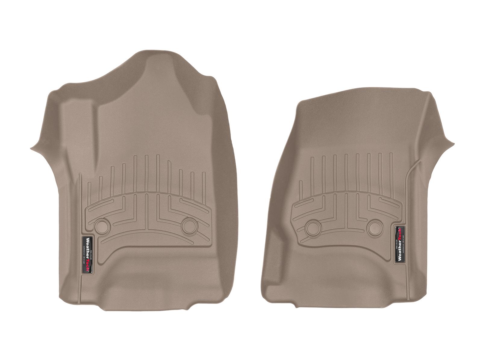 Tappeti gomma su misura bordo alto Chevrolet Silverado 15>17 Marrone A198