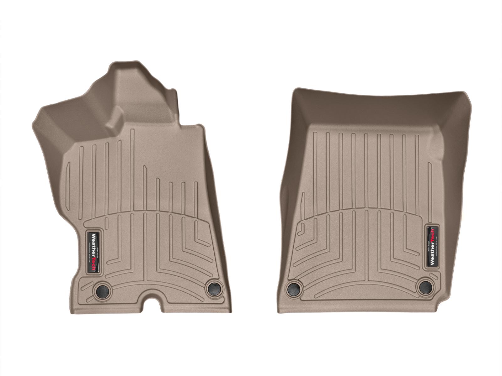 Tappeti gomma su misura bordo alto Ferrari FF 12>16 Marrone A747*