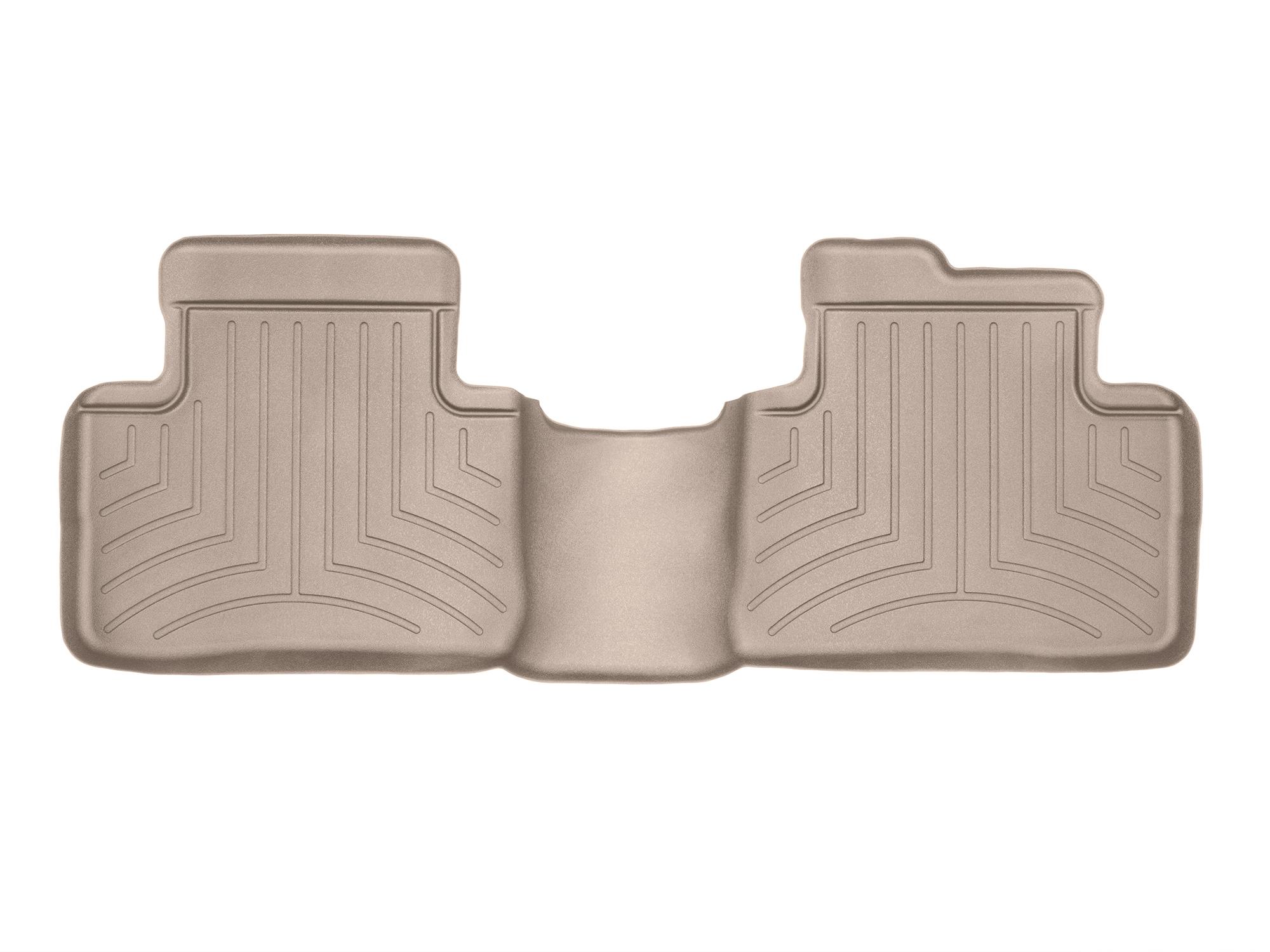 Tappeti gomma su misura bordo alto Nissan X-Trail 15>17 Marrone A2942