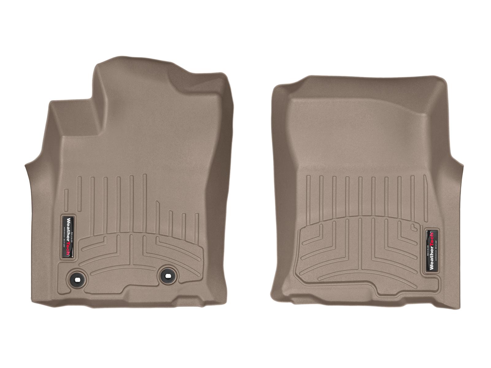 Tappeti gomma su misura bordo alto Toyota Prado 14>14 Marrone A3718*