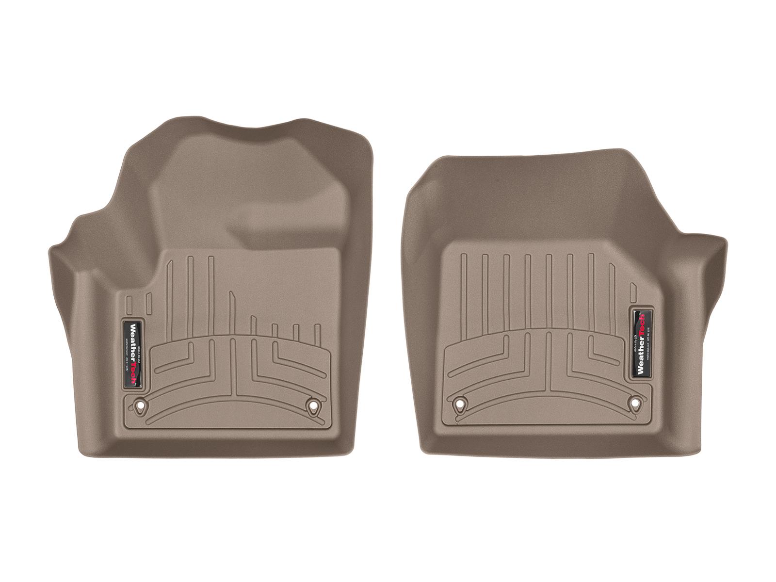 Tappeti gomma su misura bordo alto Land Rover 15>17 Marrone A1999