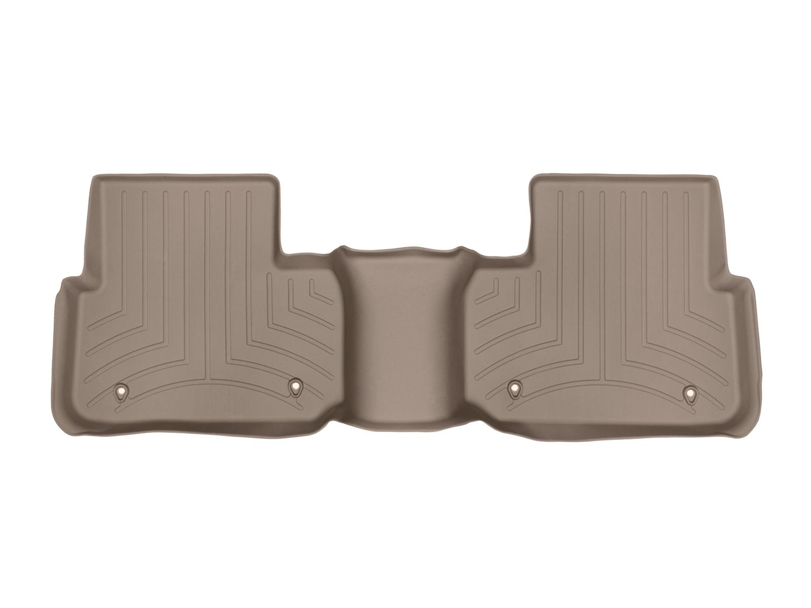 Tappeti gomma su misura bordo alto Land Rover 15>17 Marrone A2000
