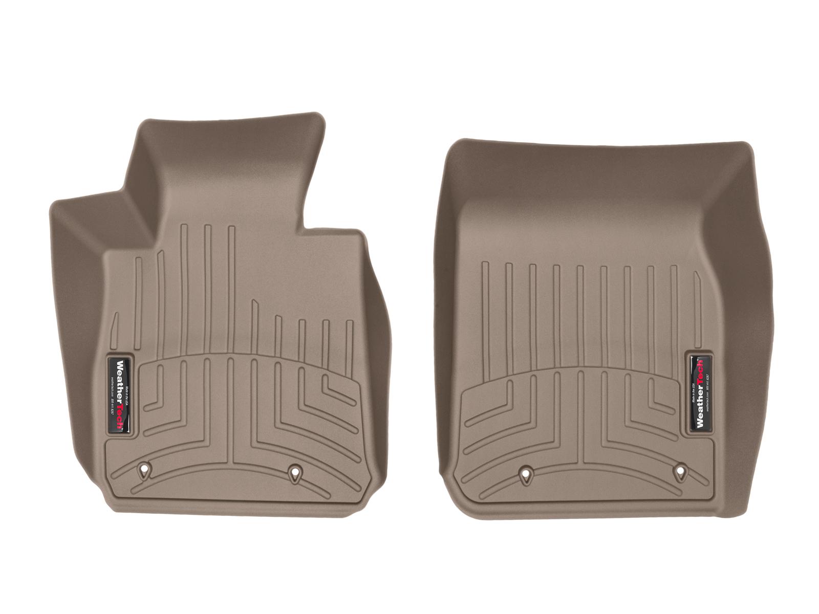 BMW Serie 2 (F22/F23) 15>17 Tappeti gomma su misura bordo alto marrone*