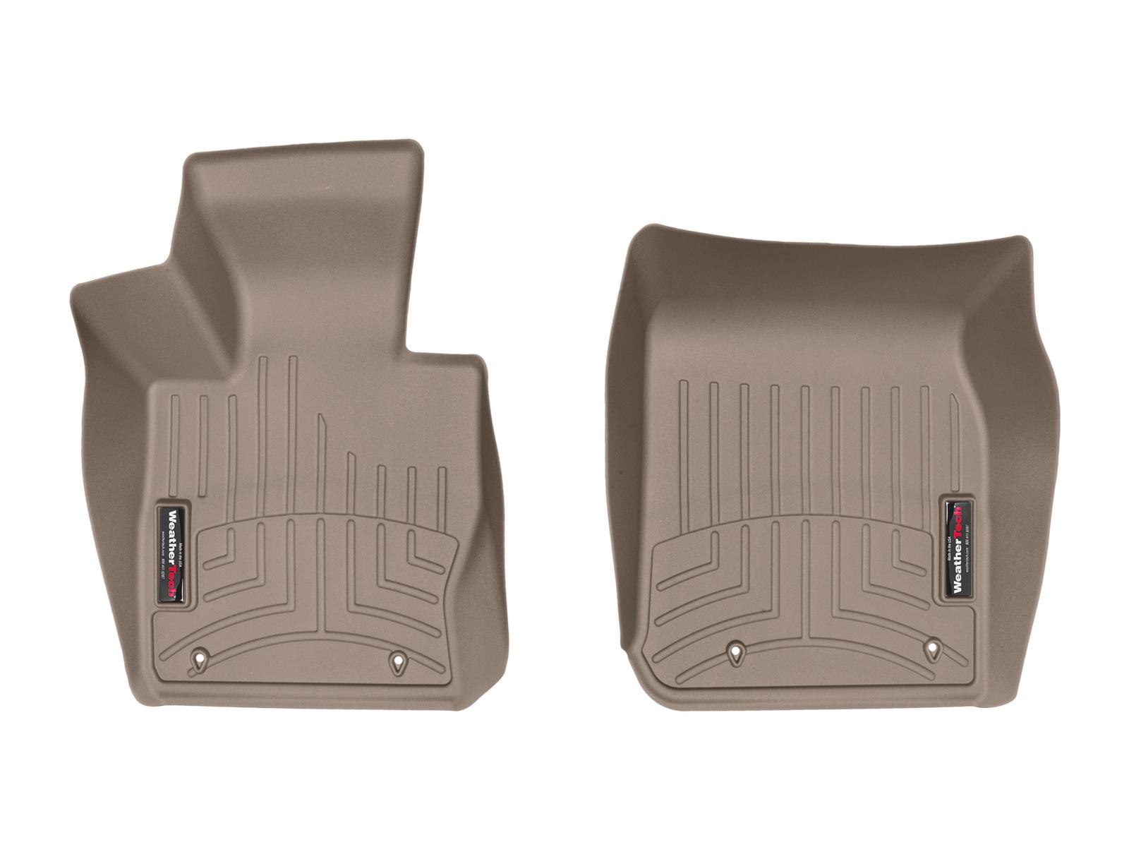 BMW Serie 2 (F22/F23) 15>17 Tappeti gomma su misura bordo alto marrone
