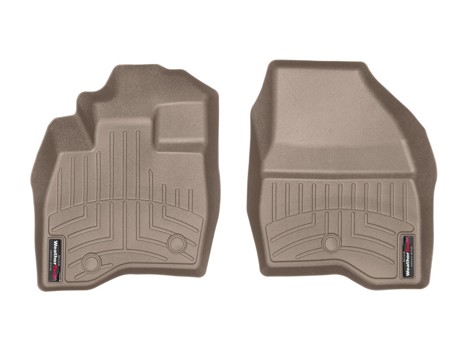 Tappeti gomma su misura bordo alto Ford Explorer 17>17 Marrone A883*