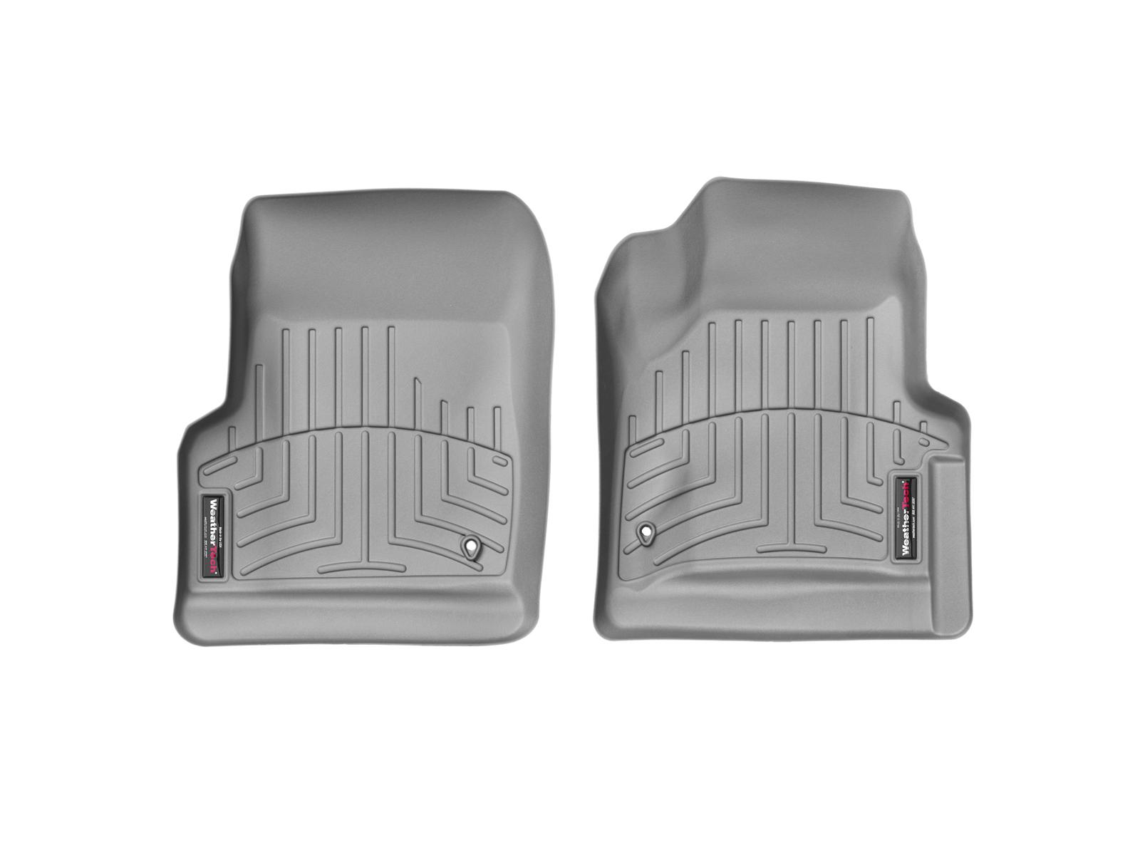 Tappeti gomma su misura bordo alto Jeep Wrangler 1997>06 Grigio A1724*