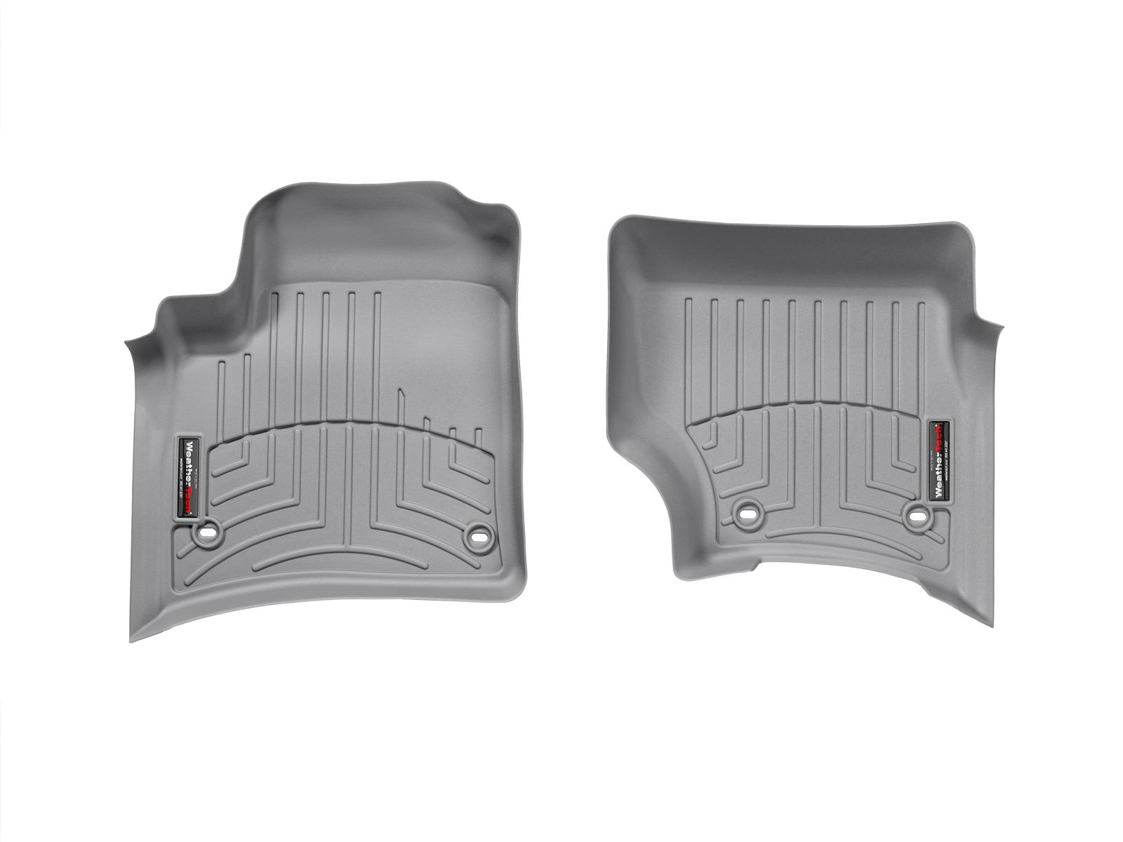 Tappeti gomma su misura bordo alto Volkswagen Touareg 07>08 Grigio A4286*