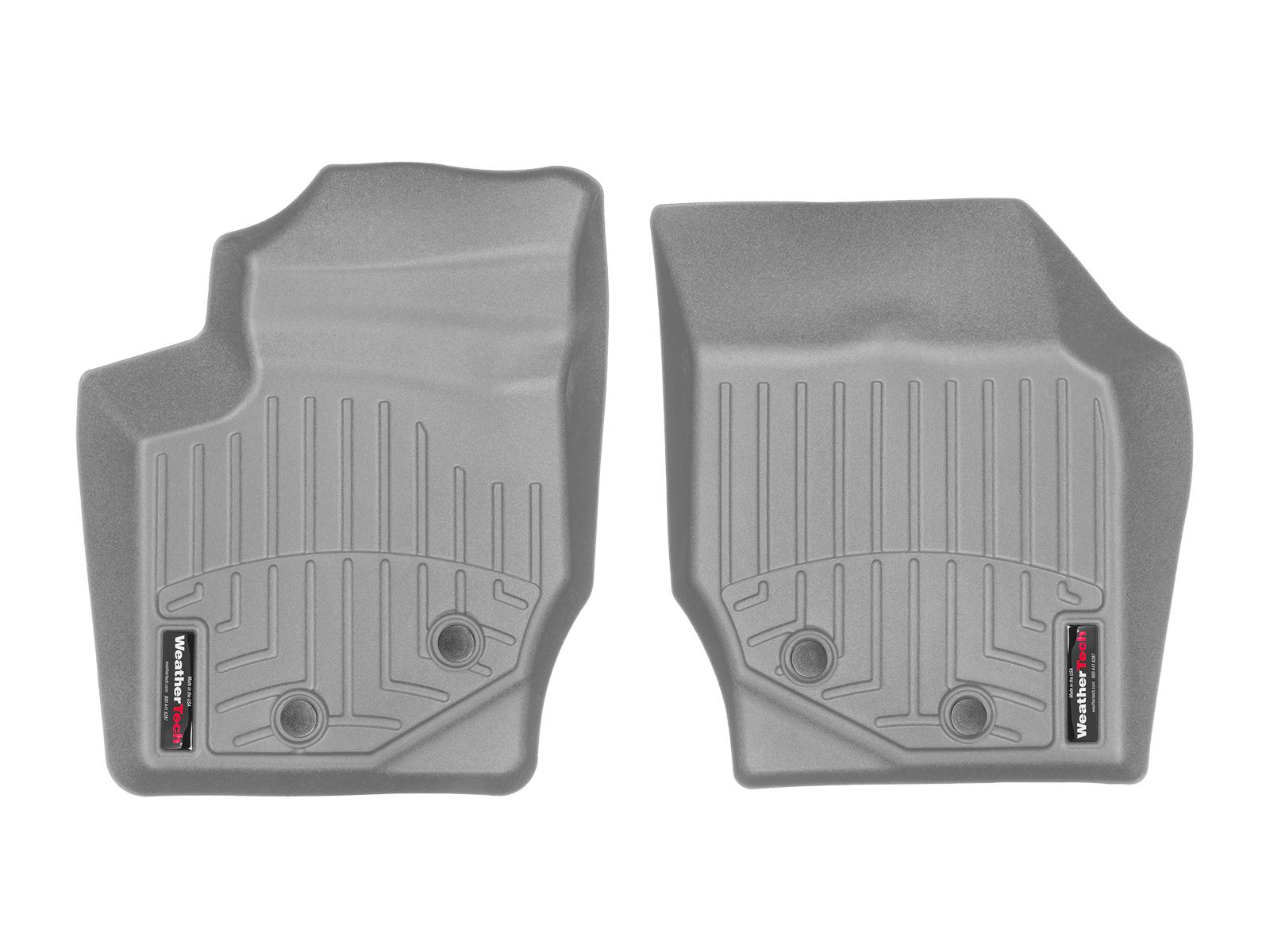 Tappeti gomma su misura bordo alto Volvo XC90 03>14 Grigio A4437*