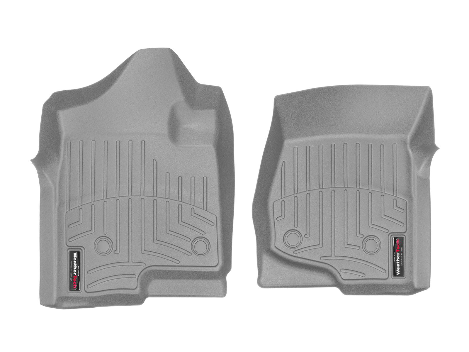 Tappeti gomma su misura bordo alto Chevrolet Silverado 08>13 Grigio A174