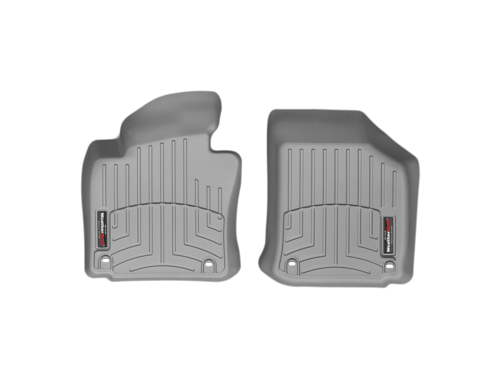 Tappeti gomma su misura bordo alto Volkswagen Eos 07>08 Grigio A4005*