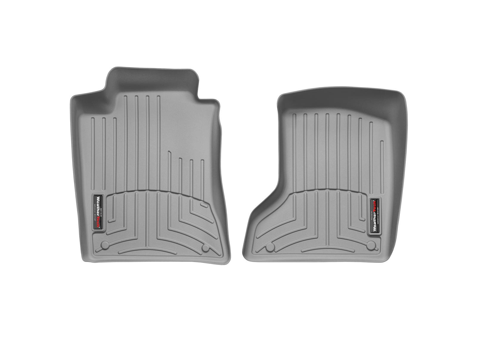 Tappeti gomma su misura bordo alto Mercedes E-Class 02>09 Grigio A2344*