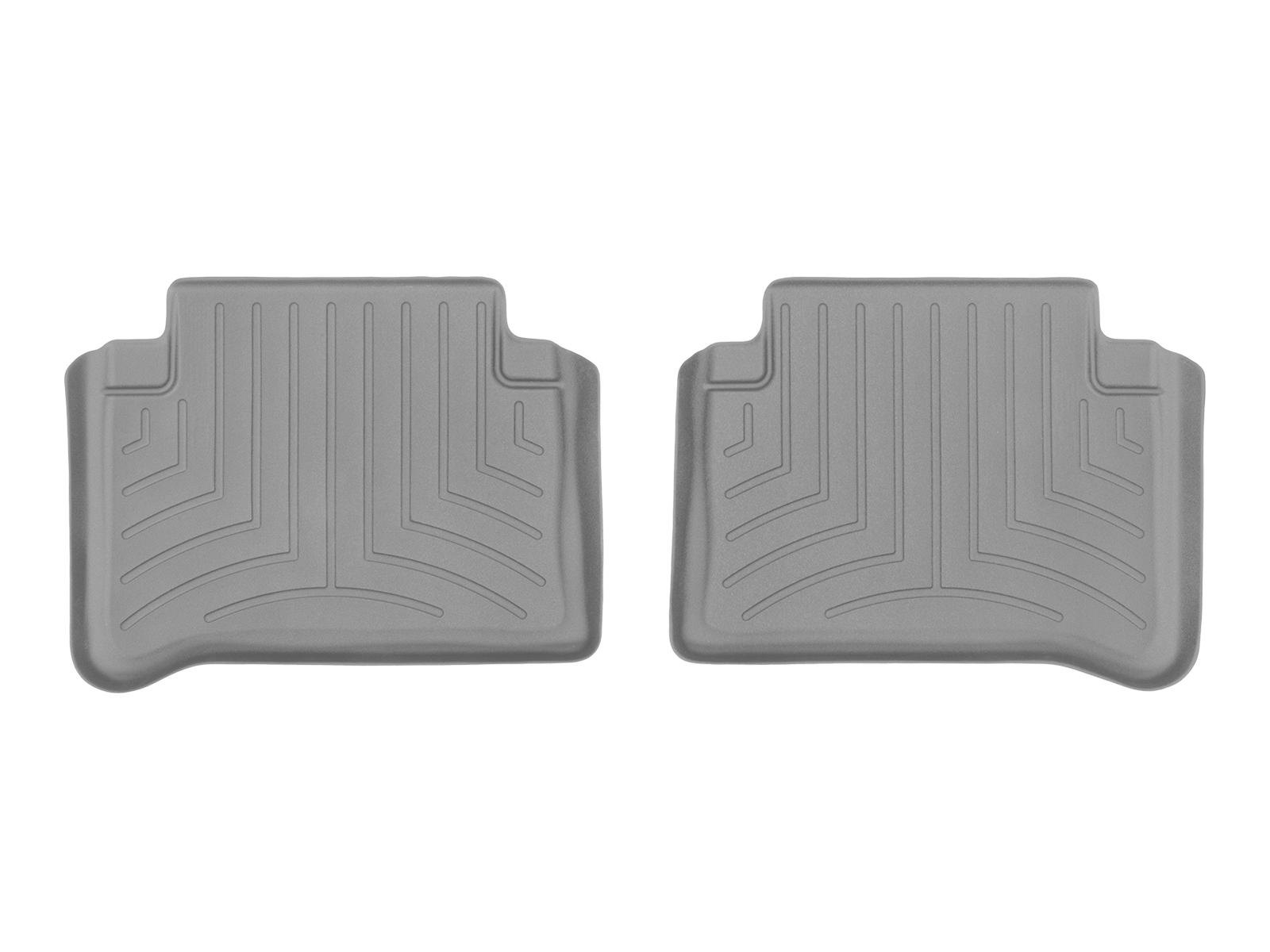 Tappeti gomma su misura bordo alto Mercedes E-Class 03>09 Grigio A2363*