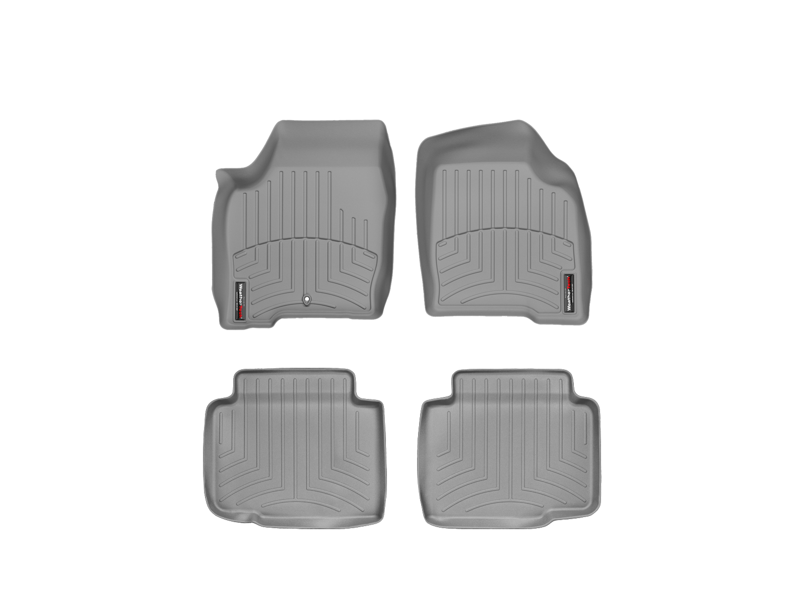 Tappeti gomma su misura bordo alto Chevrolet Impala Limited 14>16 Grigio A137