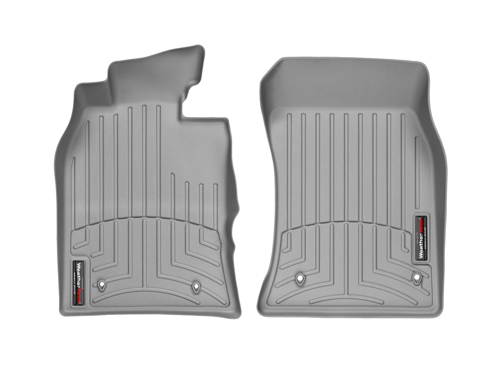 Tappeti gomma su misura bordo alto MINI Cooper / Cooper S 02>06 Grigio A2662*