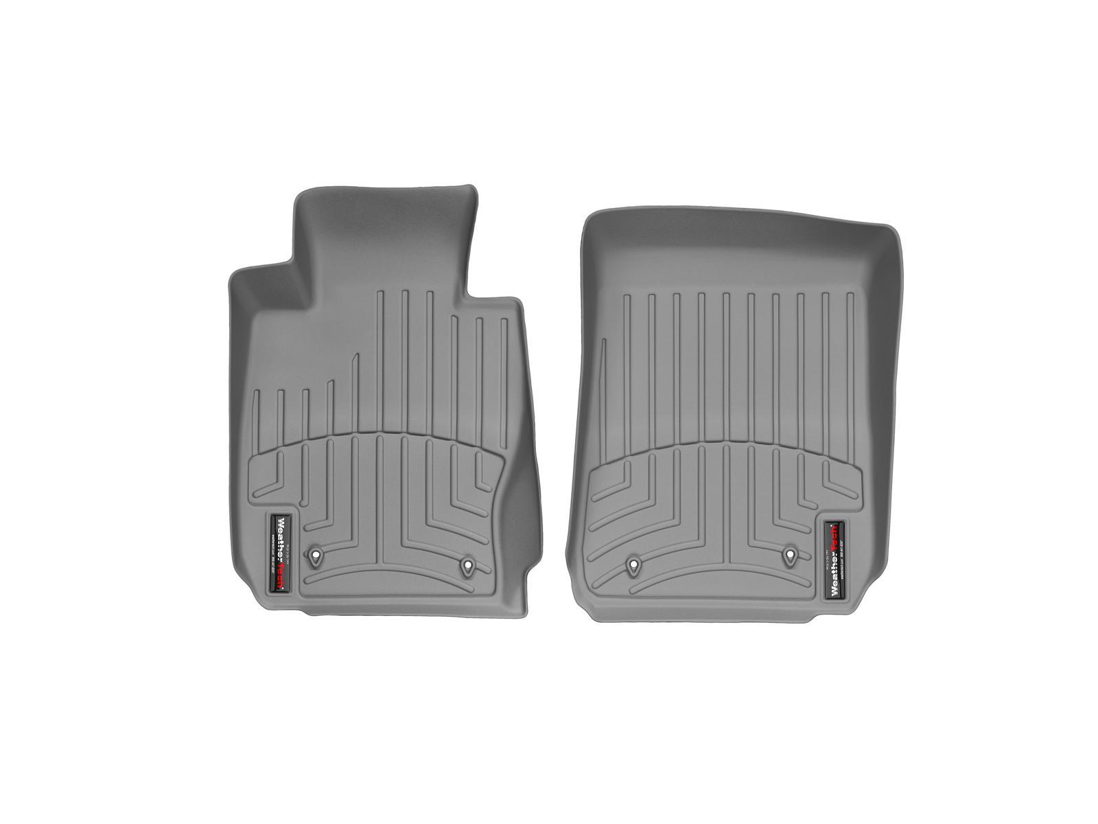 BMW Serie 3 E90/E91/E92/E93 05>11 Tappeti gomma su misura bordo alto grigio