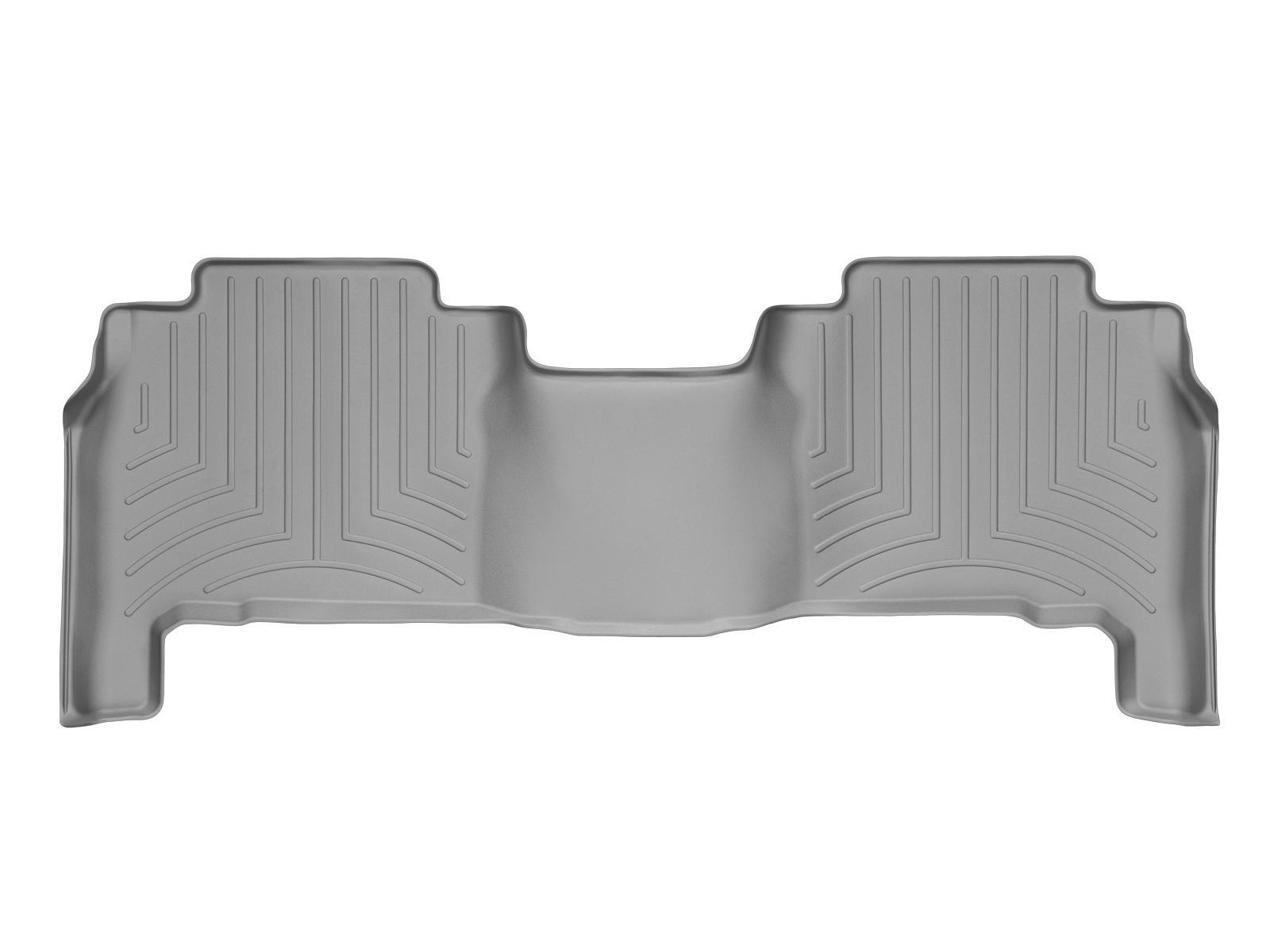 Tappeti gomma su misura bordo alto Toyota Land Cruiser V8 08>17 Grigio A3702*