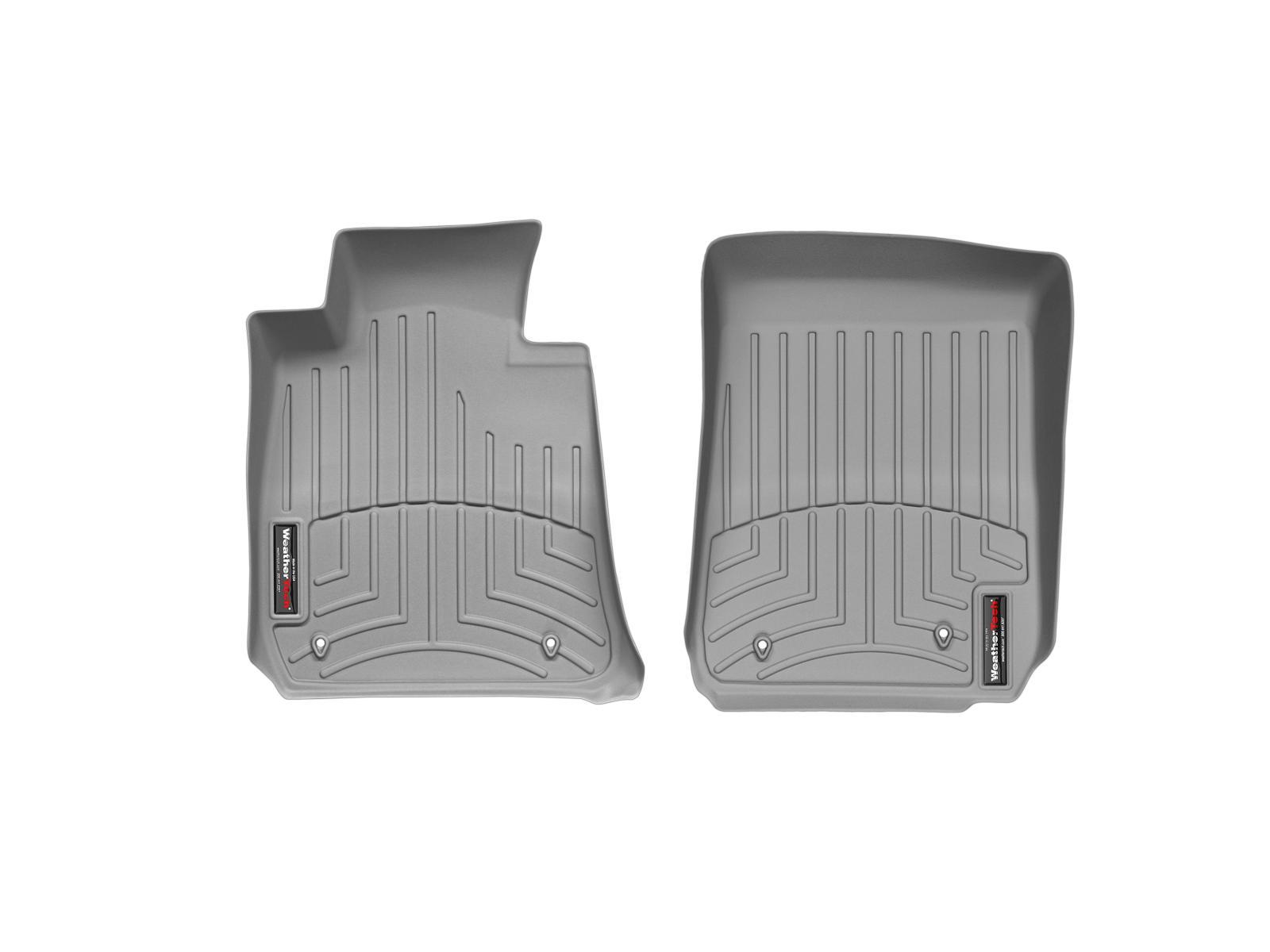 BMW M3 (E90/E92/E93) 08>13 Tappeti gomma su misura bordo alto grigio