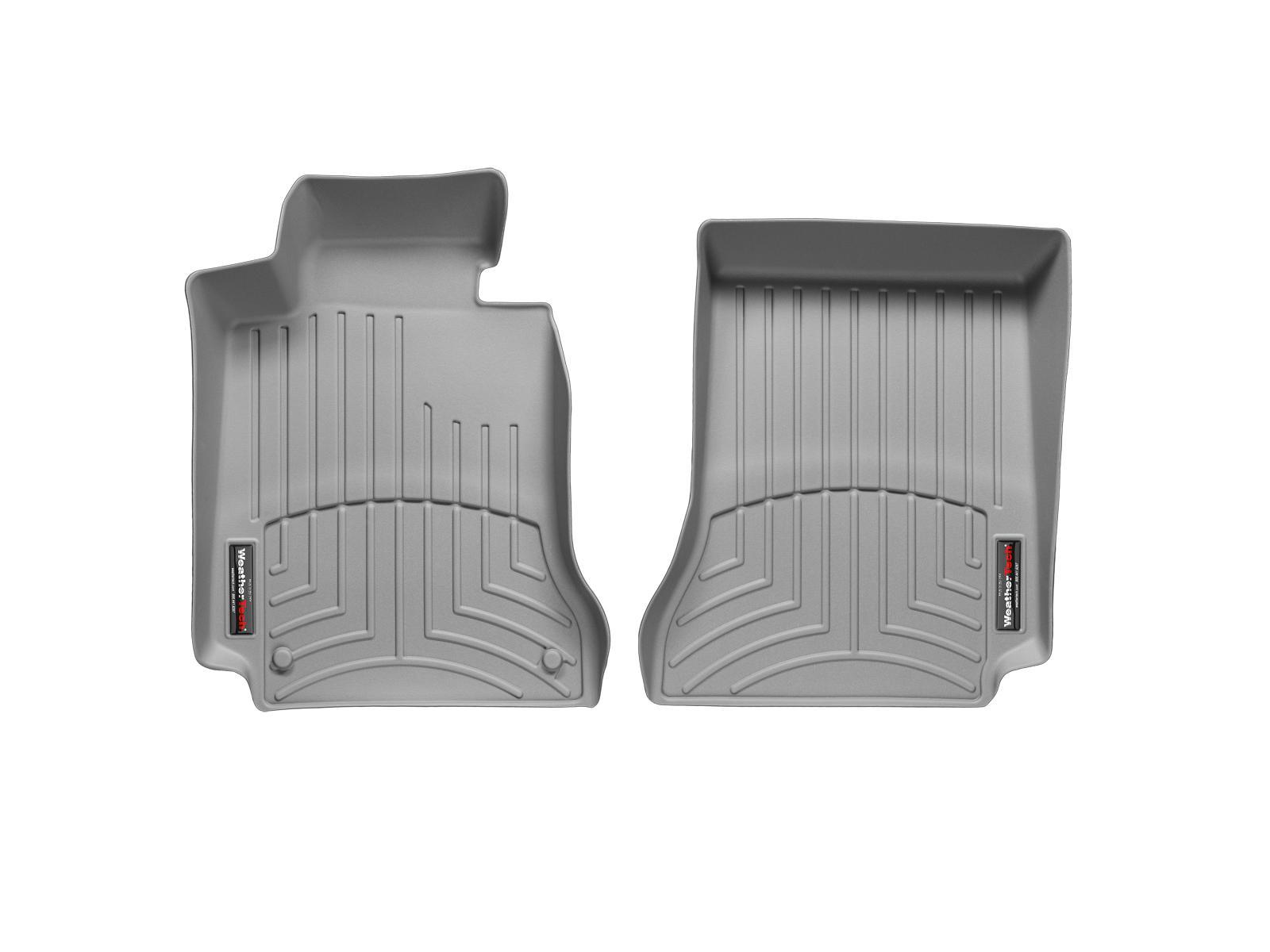 Tappeti gomma su misura bordo alto Mercedes E-Class 12>12 Grigio A2392*